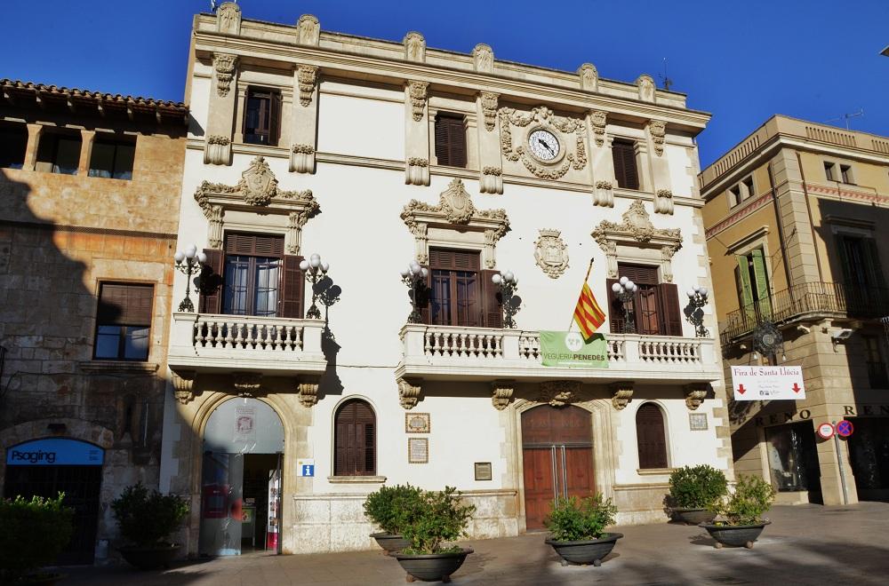 file casa de la vila vilafranca del pened s