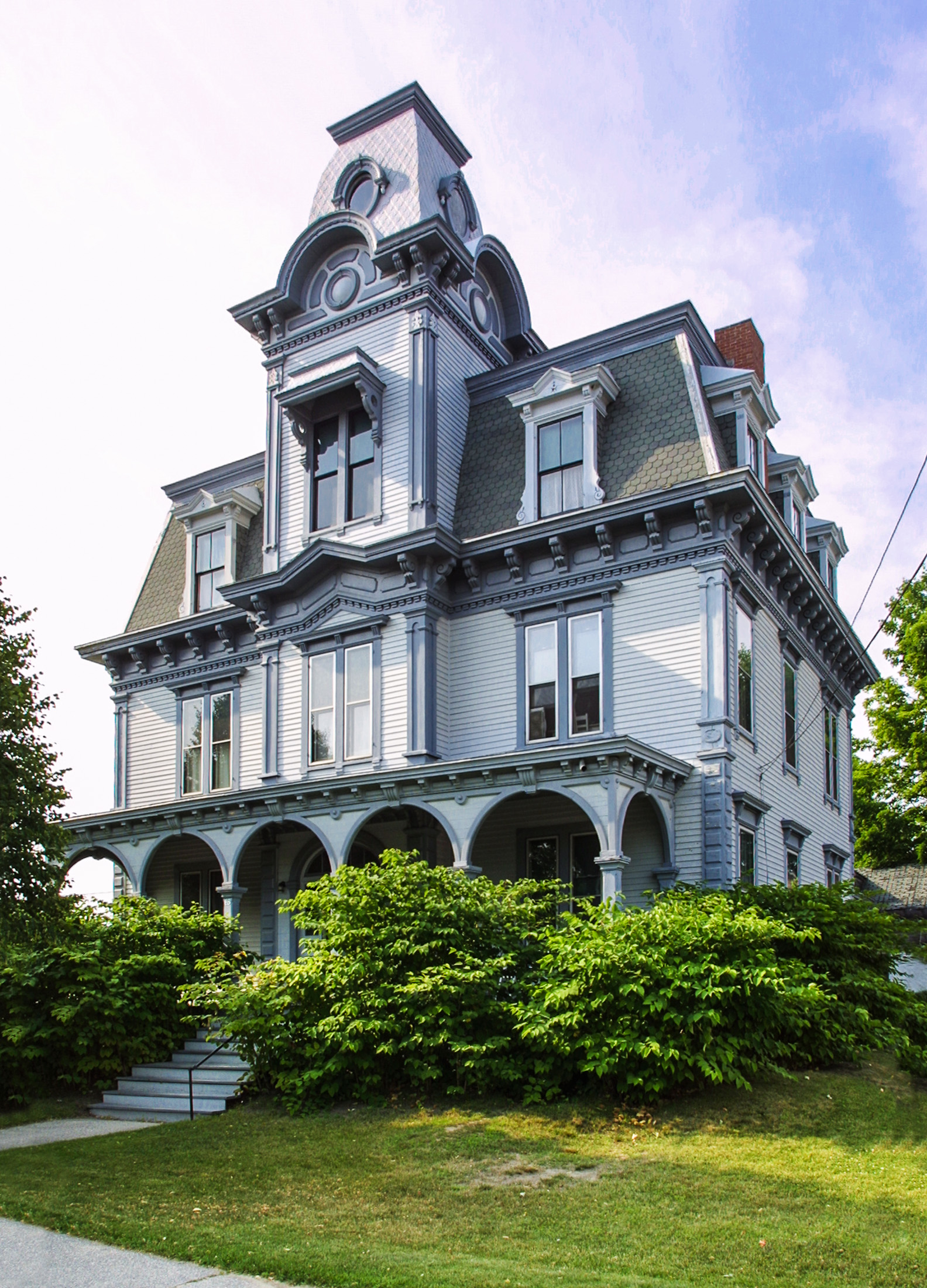 Maine androscoggin county every county for Victorian style house