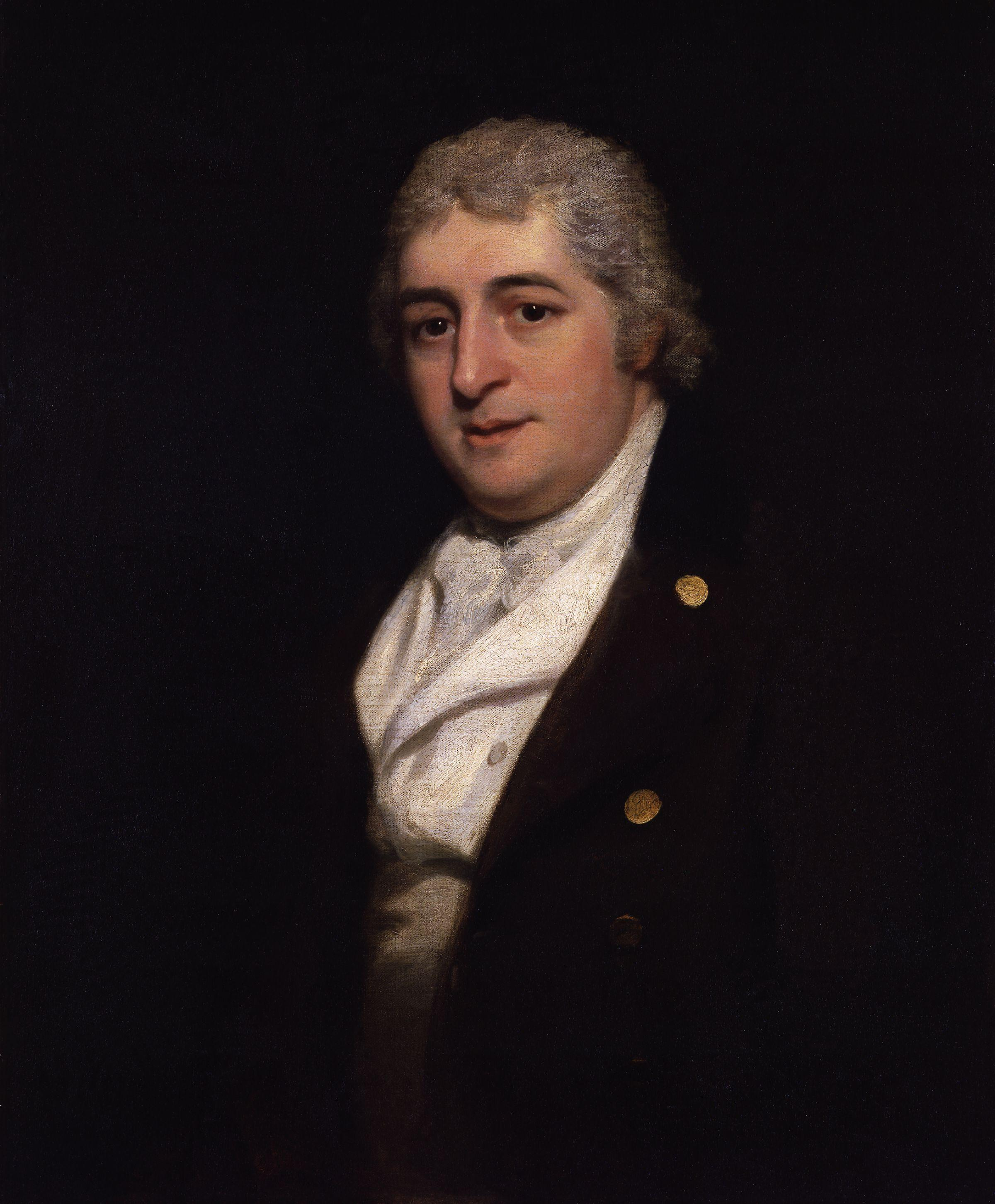 ''Charles Dibdin'', 1799, by [[Thomas Phillips
