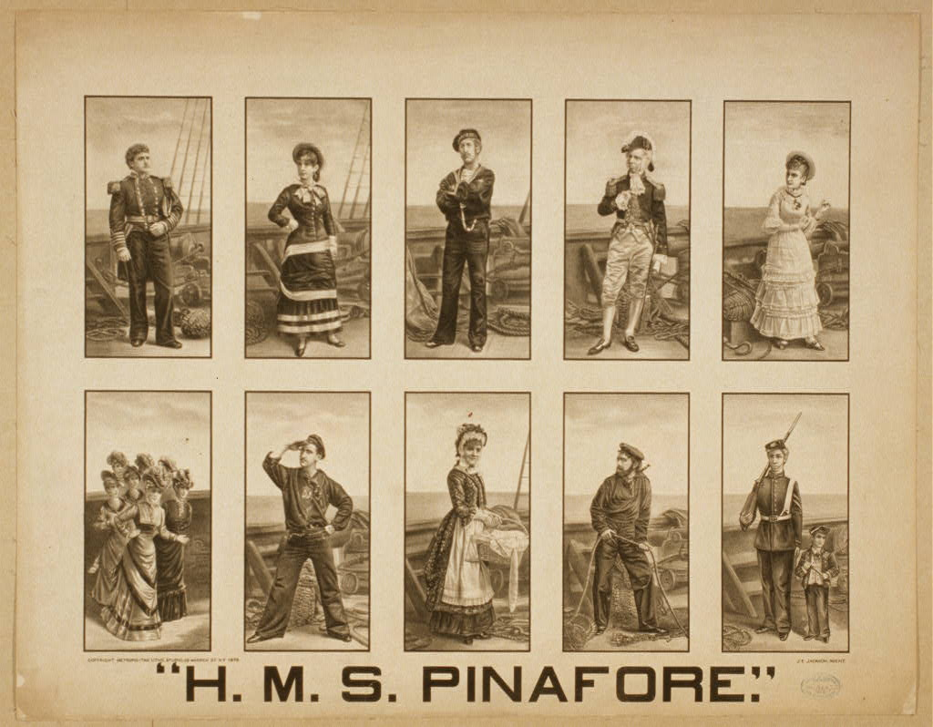 H M S Pinafore Wikipedia