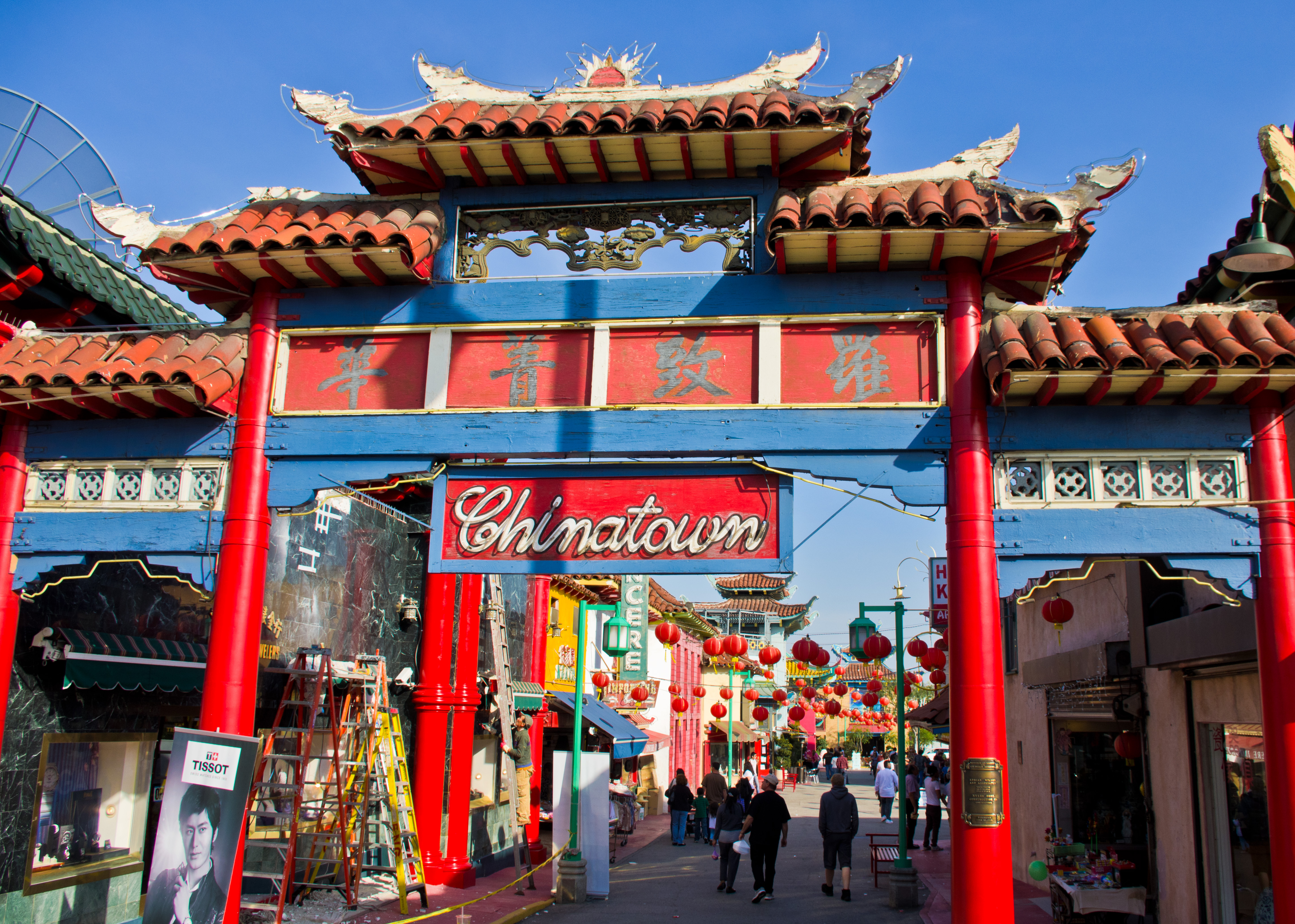 file chinatown gate los wikimedia commons. Black Bedroom Furniture Sets. Home Design Ideas