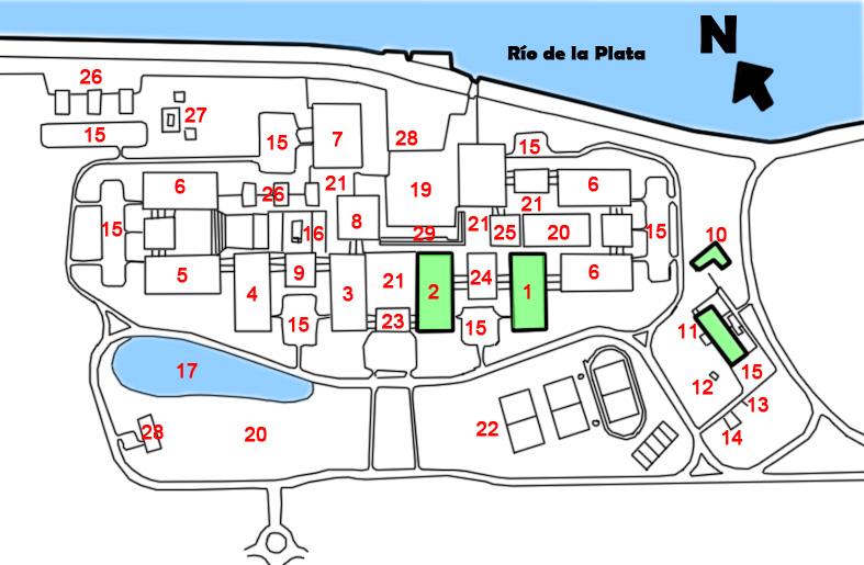 File ciudad universitaria de la uba proyecto original for Mapa facultad de arquitectura