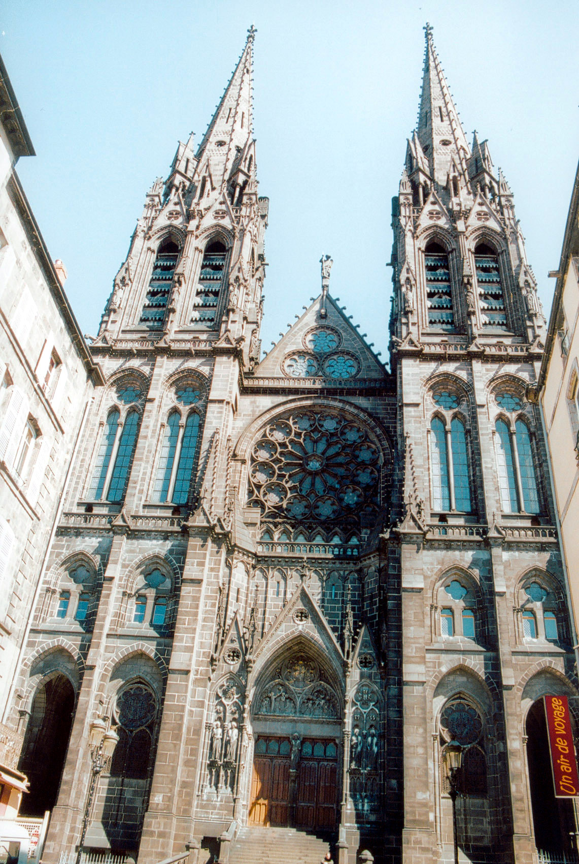 file clermont ferrand cathedrale wikimedia commons. Black Bedroom Furniture Sets. Home Design Ideas