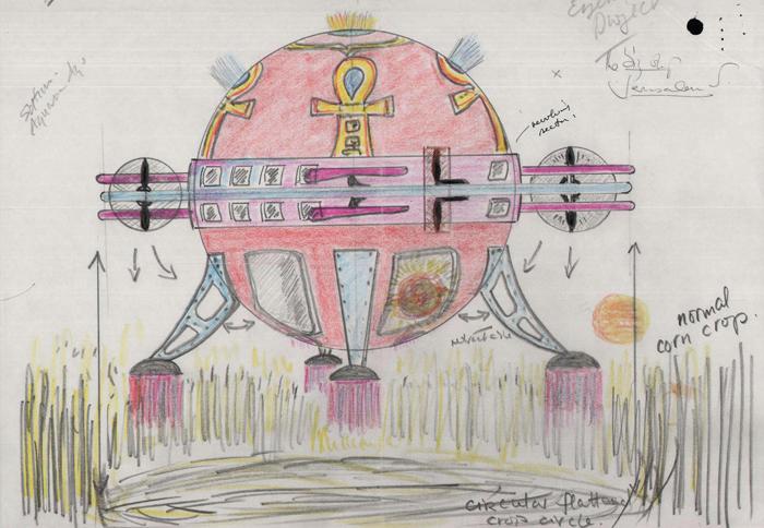 File:Colour sketch of a spaceship creating crop circles.jpg