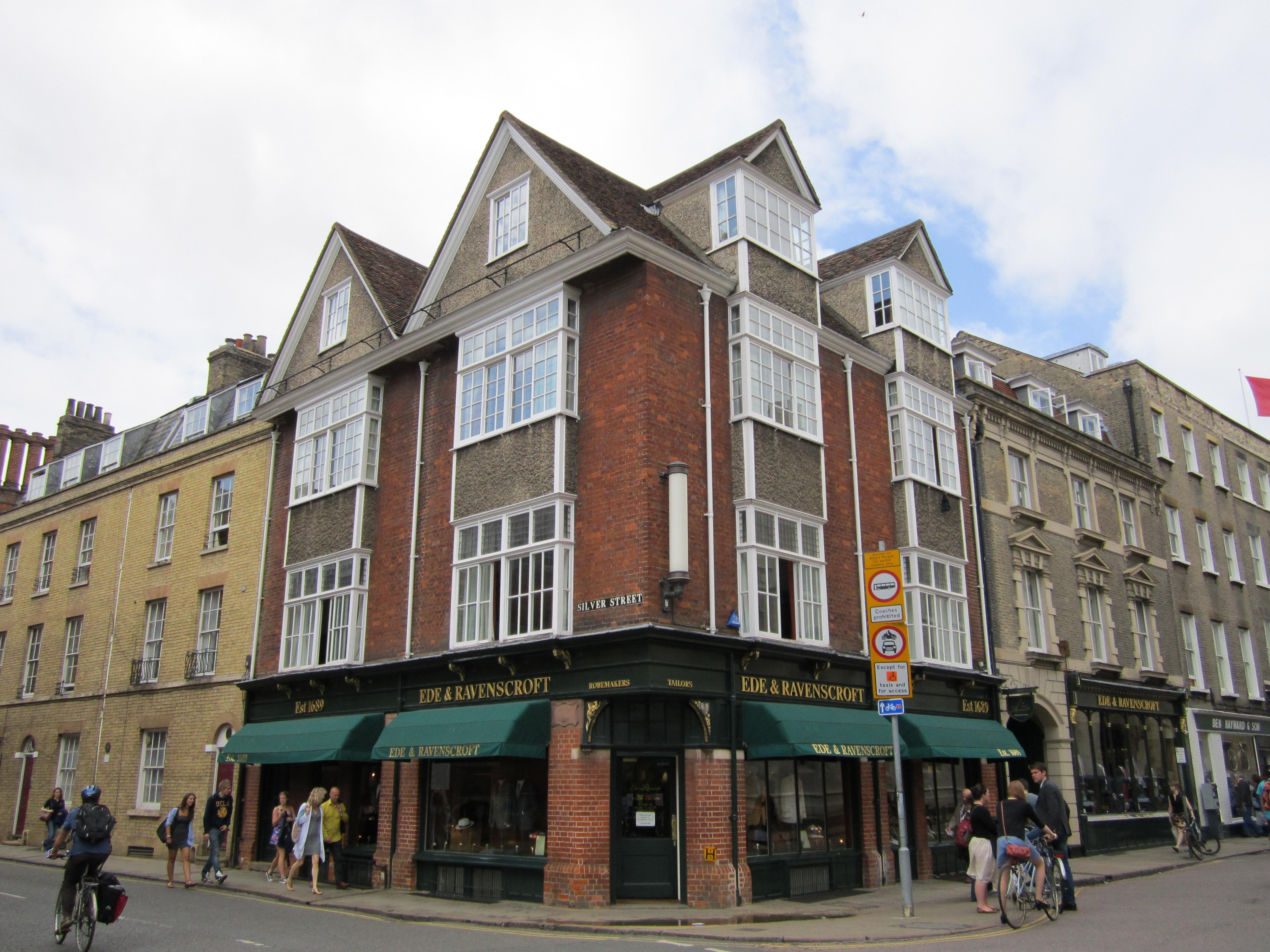 File Corner Of Silver Street Cambridge England Img
