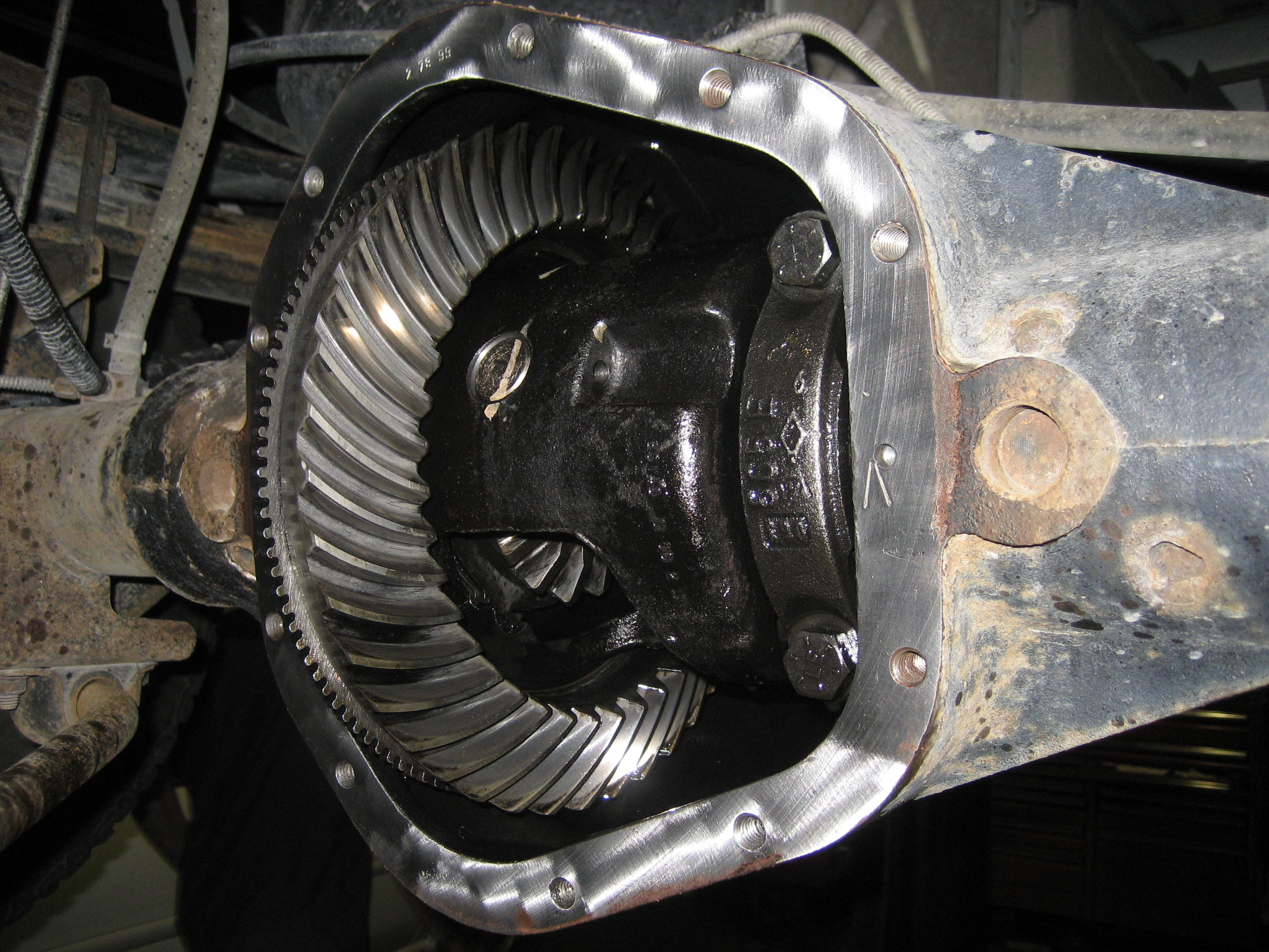 File Dana 60 Dodge 4 10 Gears Jpg Wikimedia Commons