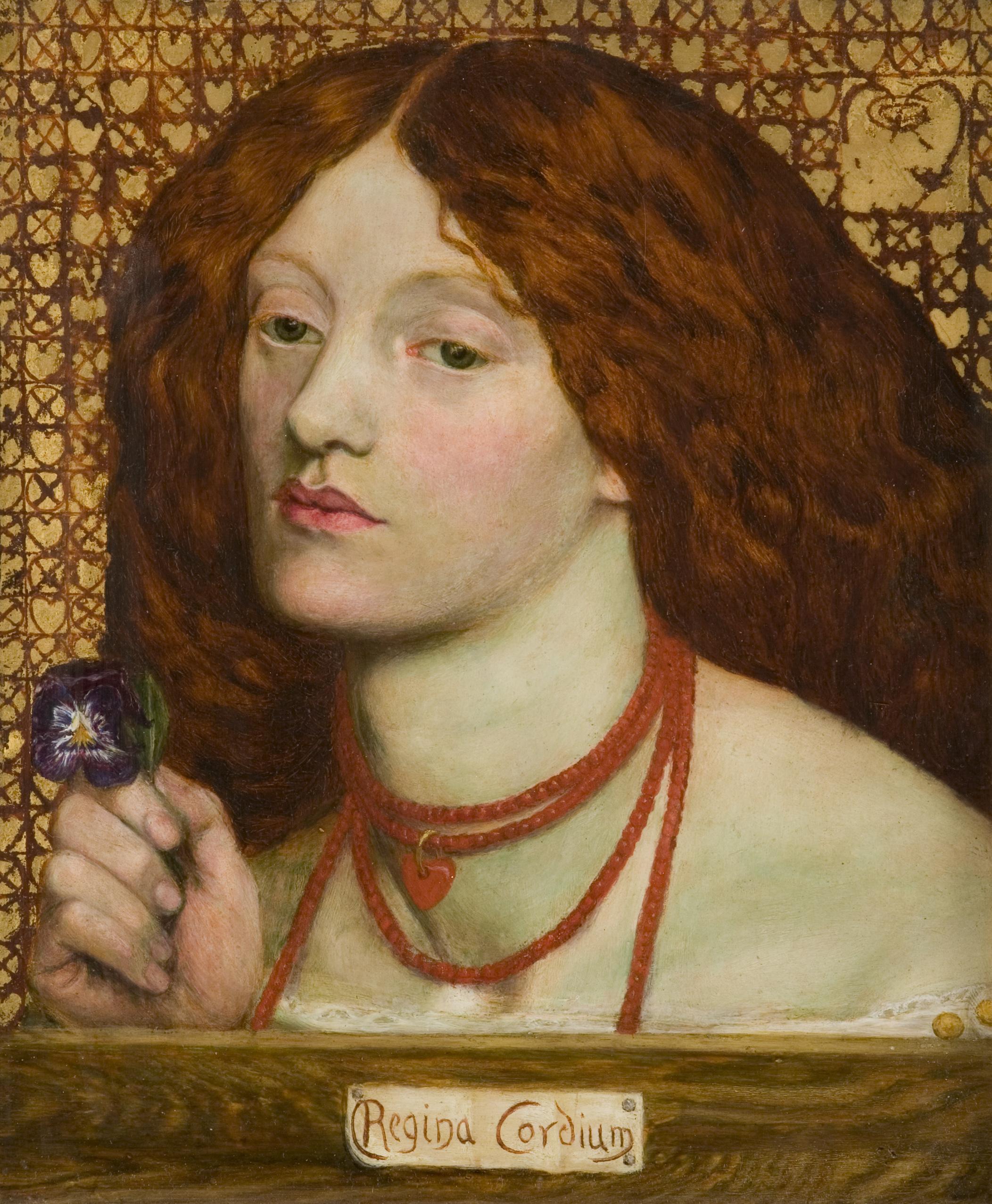 File:Dante Gabriel Rossetti - Regina Cordium (1860).jpg ...