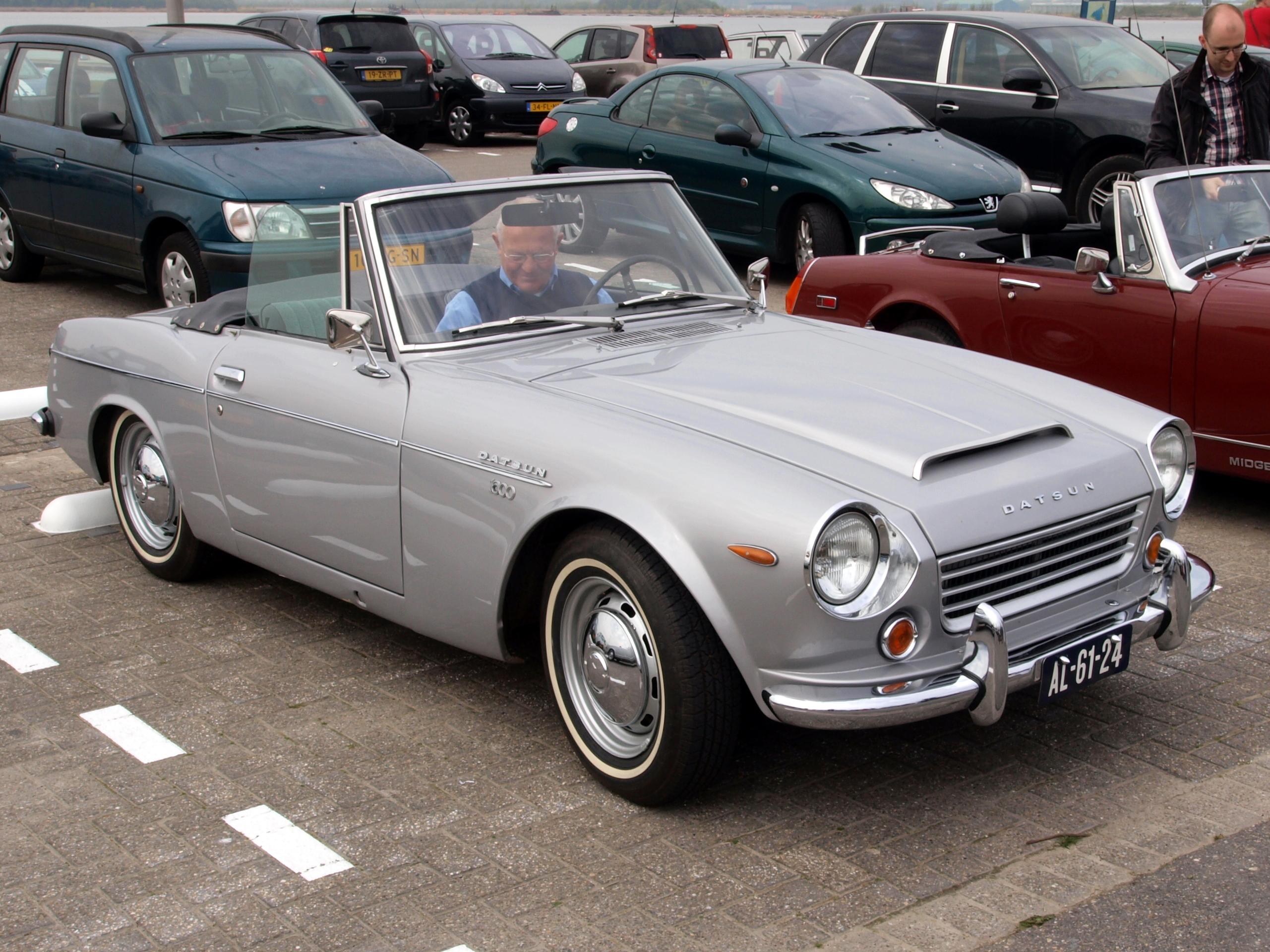 File:Datsun 1600 Fairlady (1969), Dutch licence ...