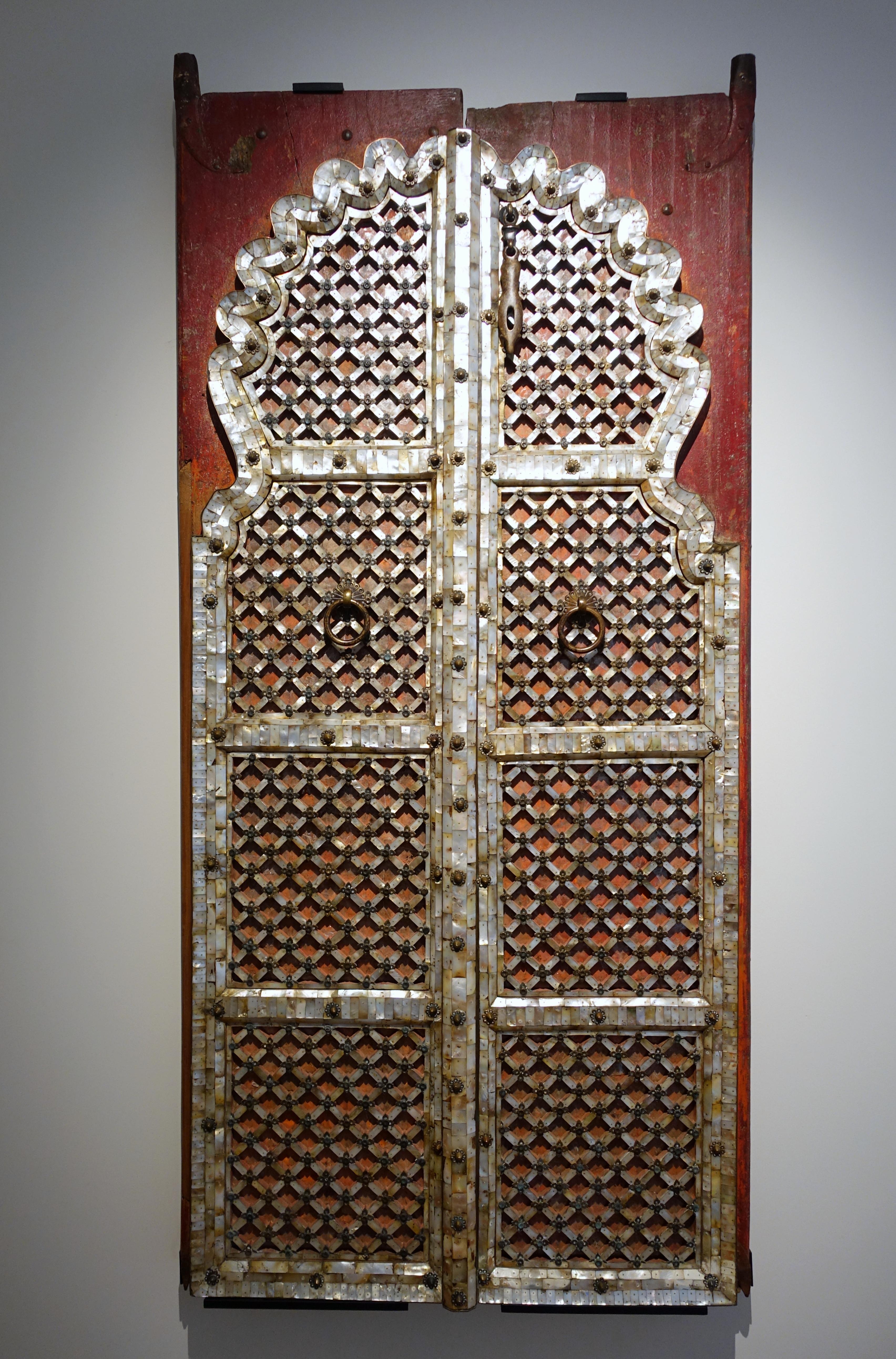 FileDoor probably India Gujarat (historic Hindustan) 19th to 20th & File:Door probably India Gujarat (historic Hindustan) 19th to ...