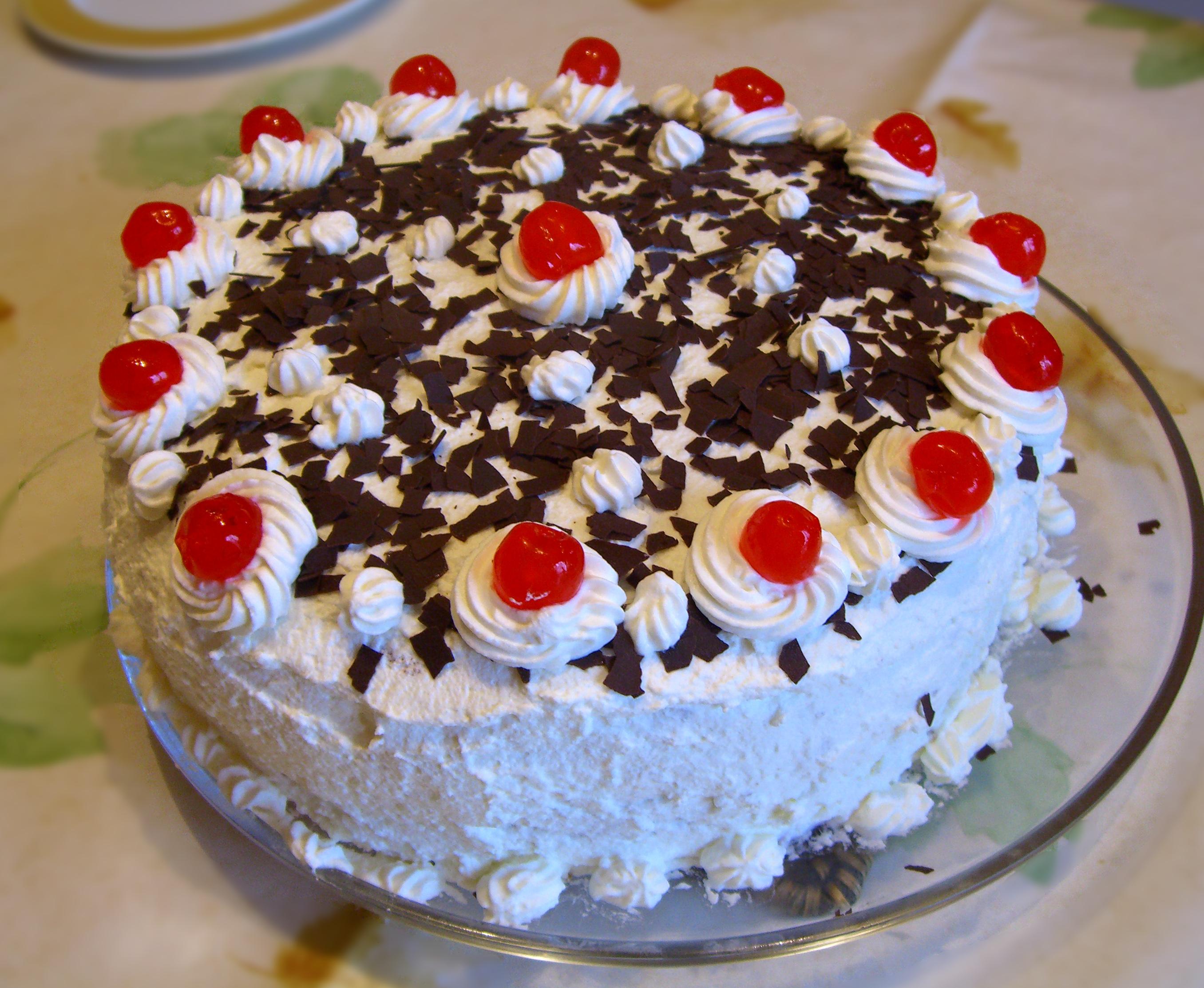 Chocolate Mountain Cake