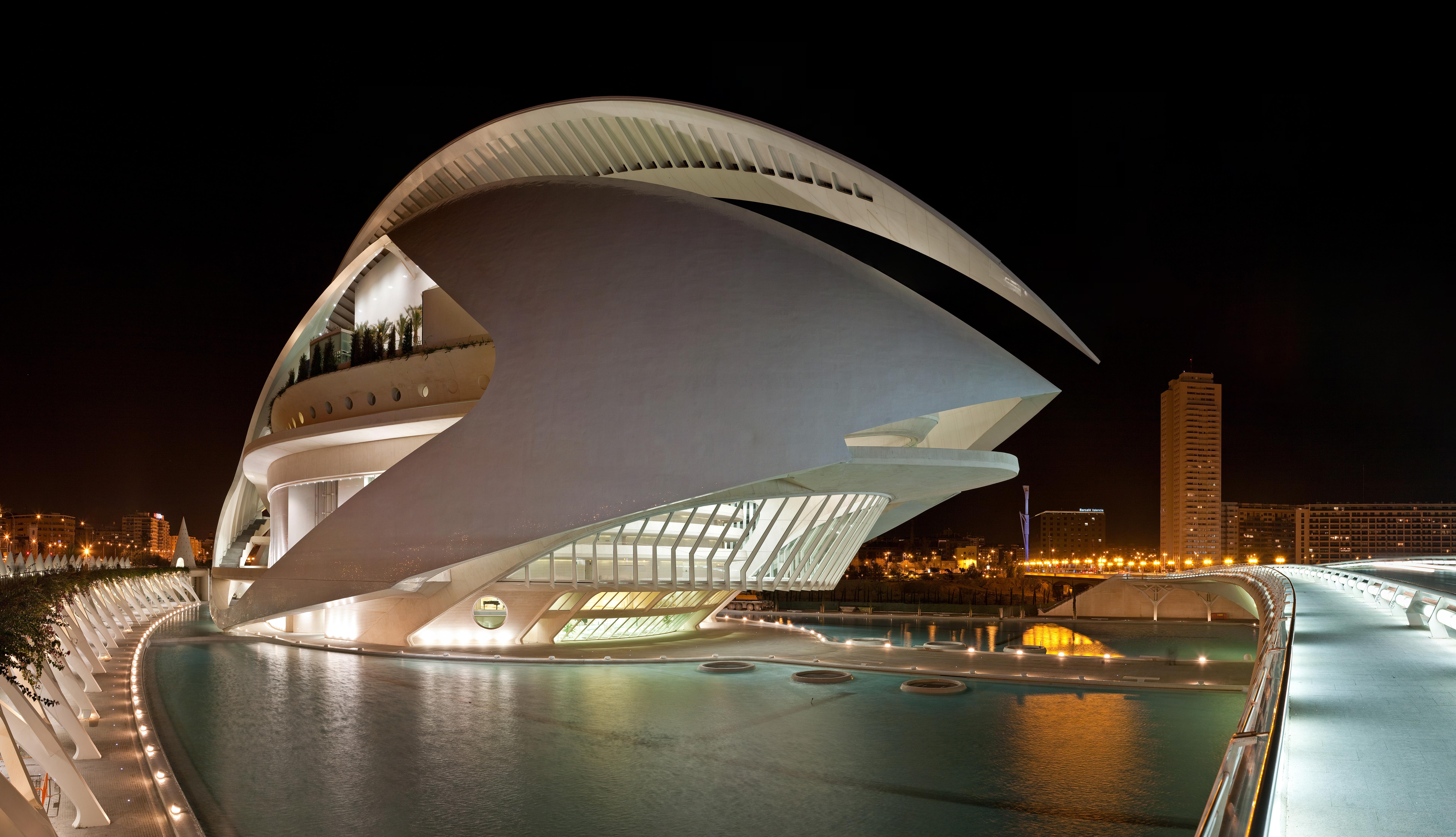 El Palau de les Arts Reina Sofía, Valencia - Jan 2007