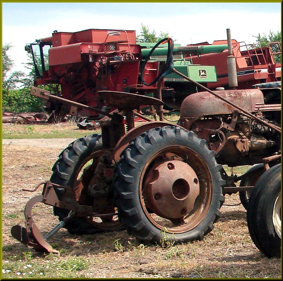 Old Farmall Tractors