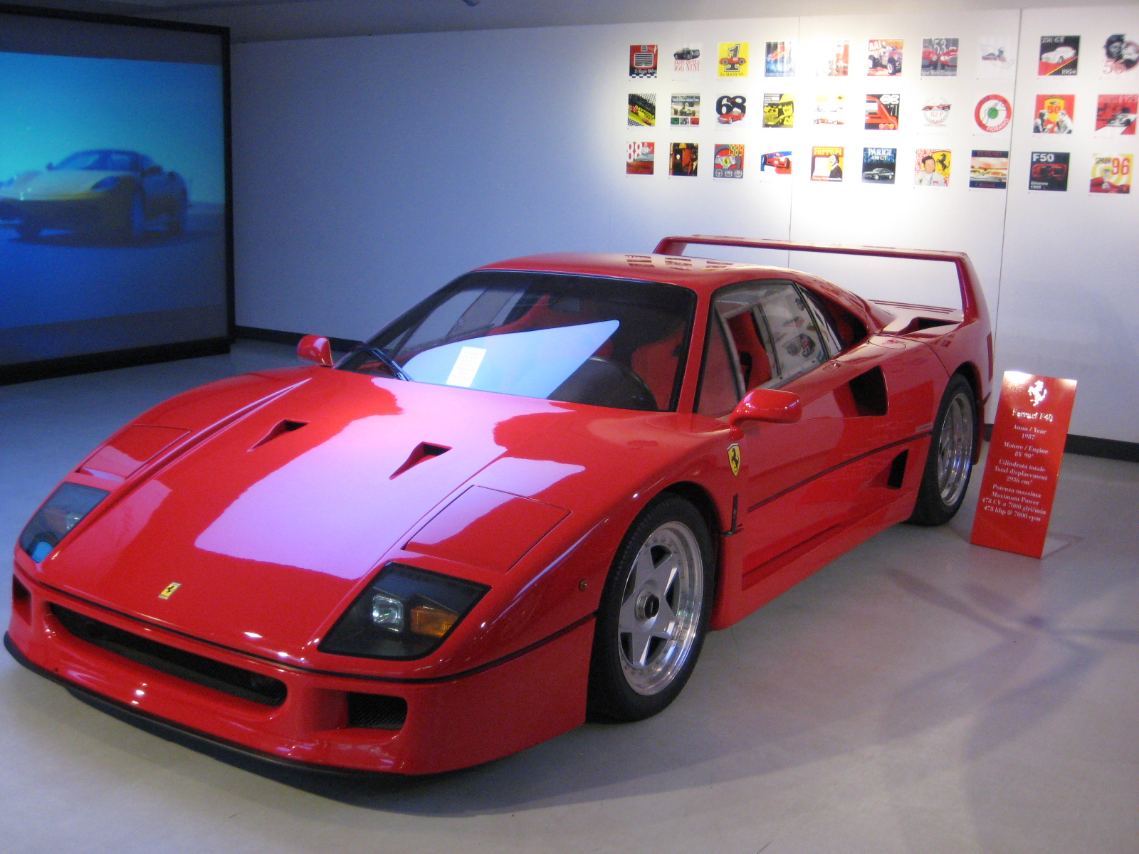 tuning cars and news ferrari f40. Black Bedroom Furniture Sets. Home Design Ideas