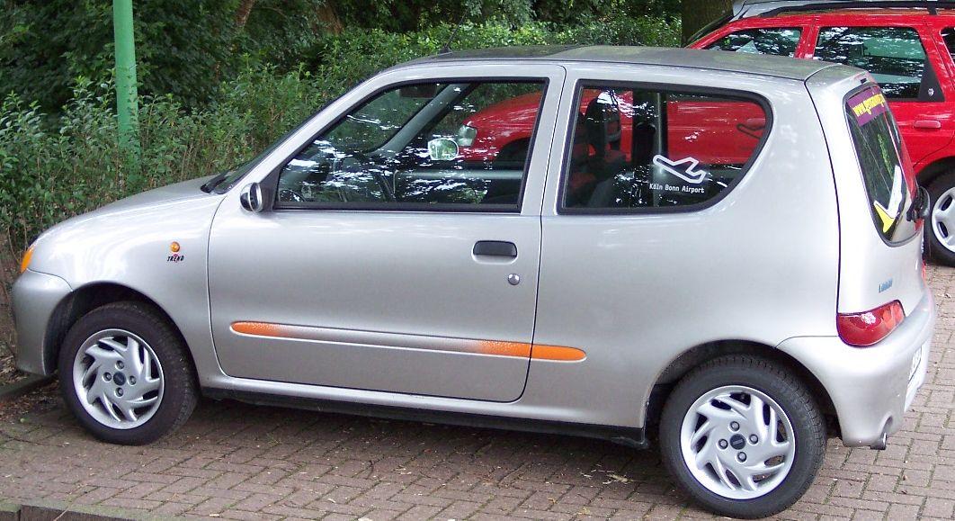Fiat Seicento Silver Hl