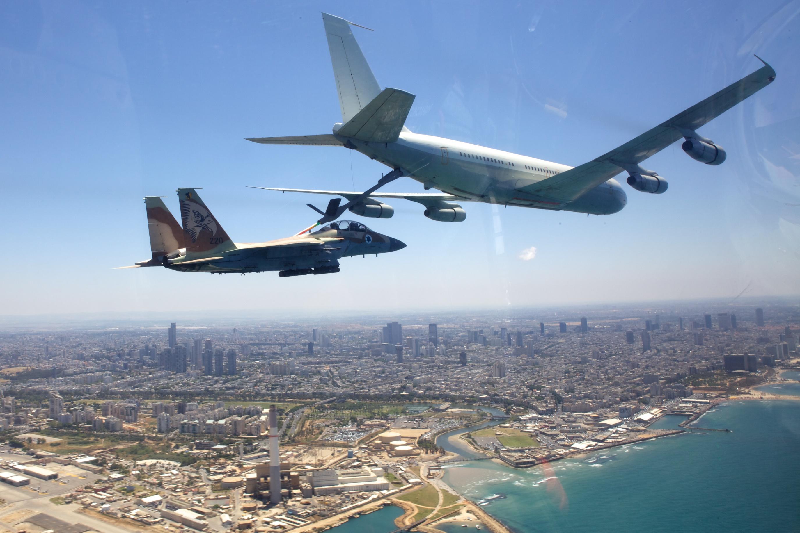 מפגן חיל האוויר ביום העצמאות 2011