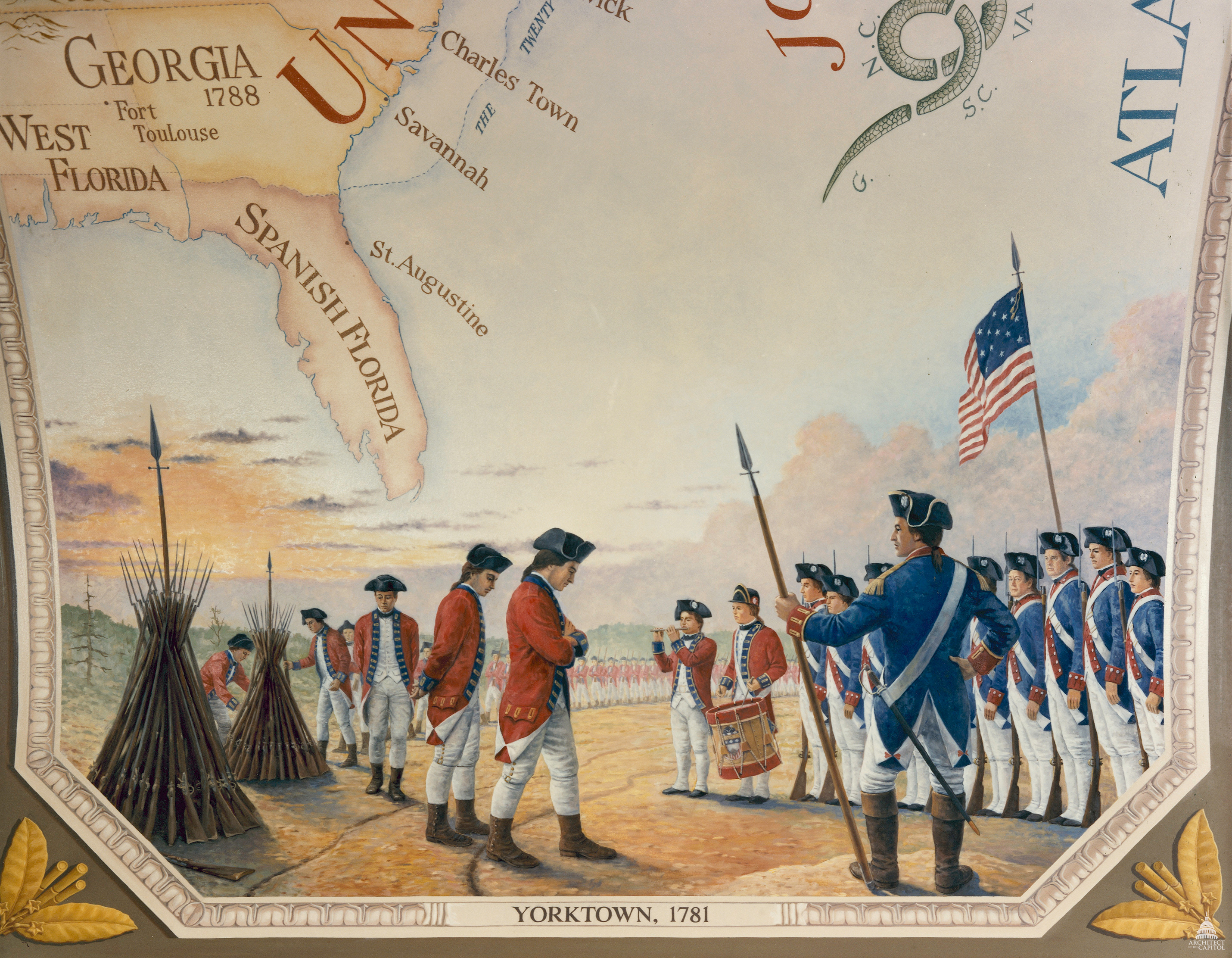 main events of the battle of yorktown the last major battle of the american revolution Battle summary  during the yorktown campaign, the siege proved to be the last  major land battle of the revolutionary war in the north american theater, as the  surrender by cornwallis, and the capture of both him and his army, prompted the   washington made a visit to his home, mount vernon, on his way to yorktown.