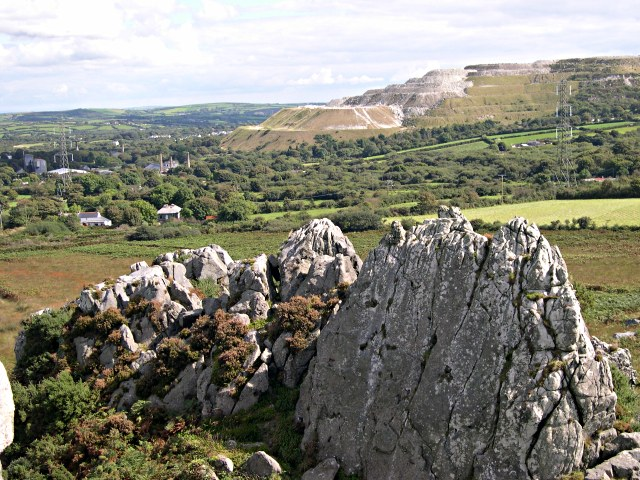 From Roche Rock to the East - geograph.org.uk - 342609
