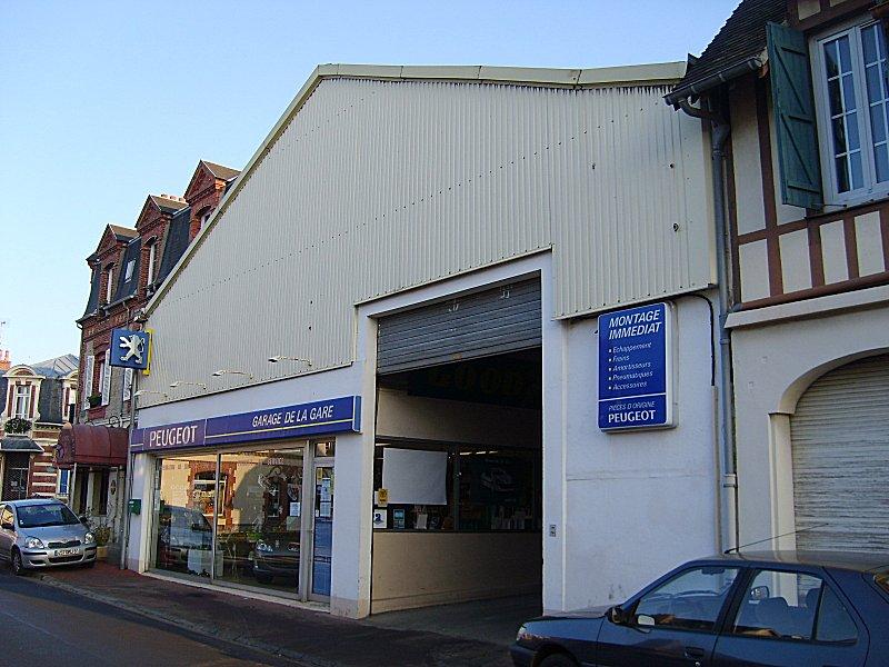 Gare de houlgate for Garage de la gare pontault
