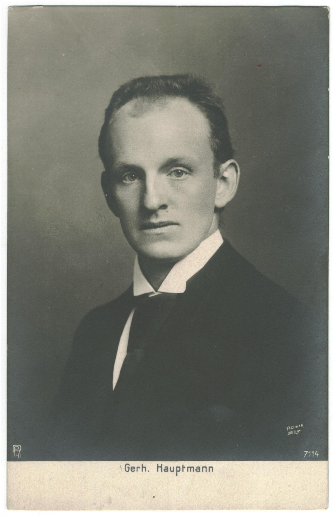 Gerhart Hauptmann – Wikiquote