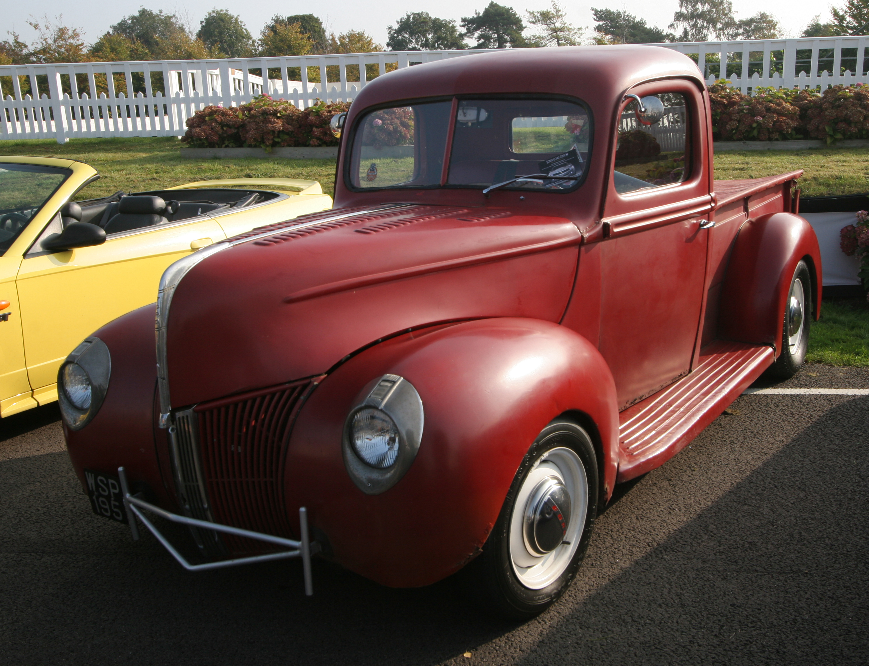 Filegoodwood Breakfast Club 1941 Ford Pickup Flickr Exfordy Coupe Red