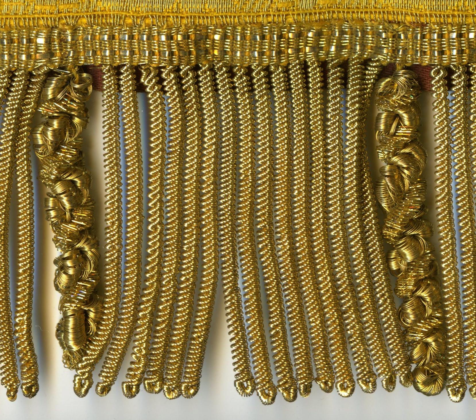 gouden franjes