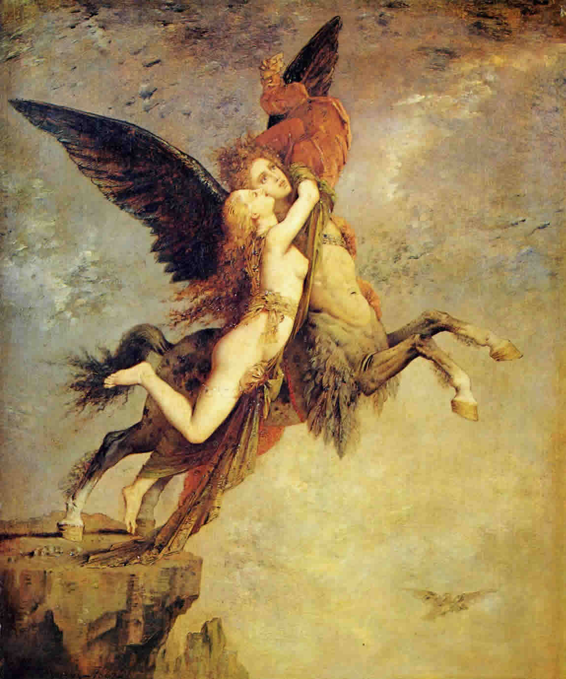Image result for la chimère gustave moreau