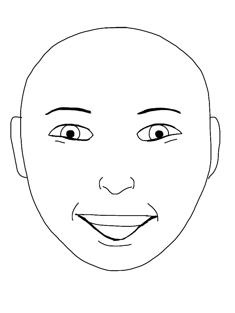 Line Drawing Of Happy Face : File happy face g wikimedia commons