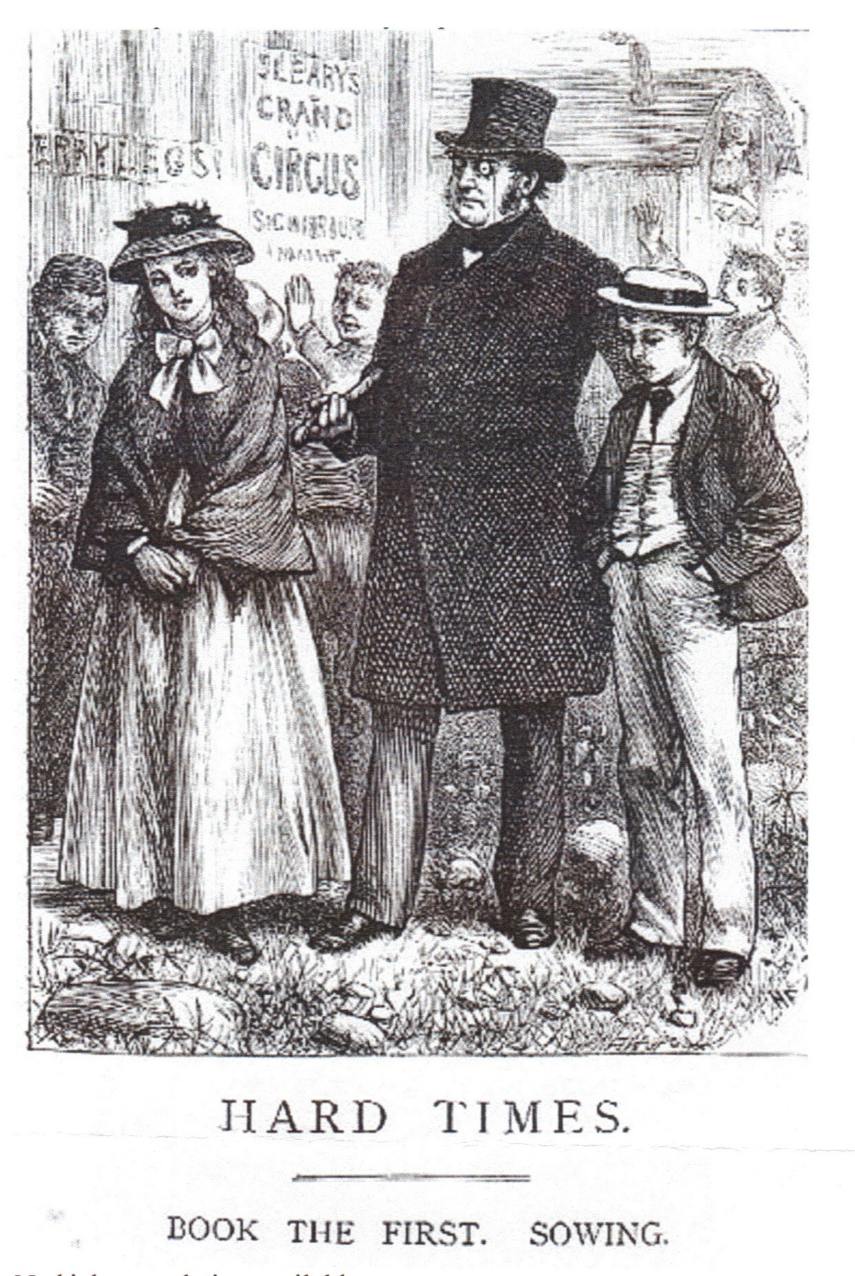 an analysis of hard times by dickens Charles dickens in his novel hard times places a great emphasis on the need  for morality in the british educational system and the decrease of utilitarianism.
