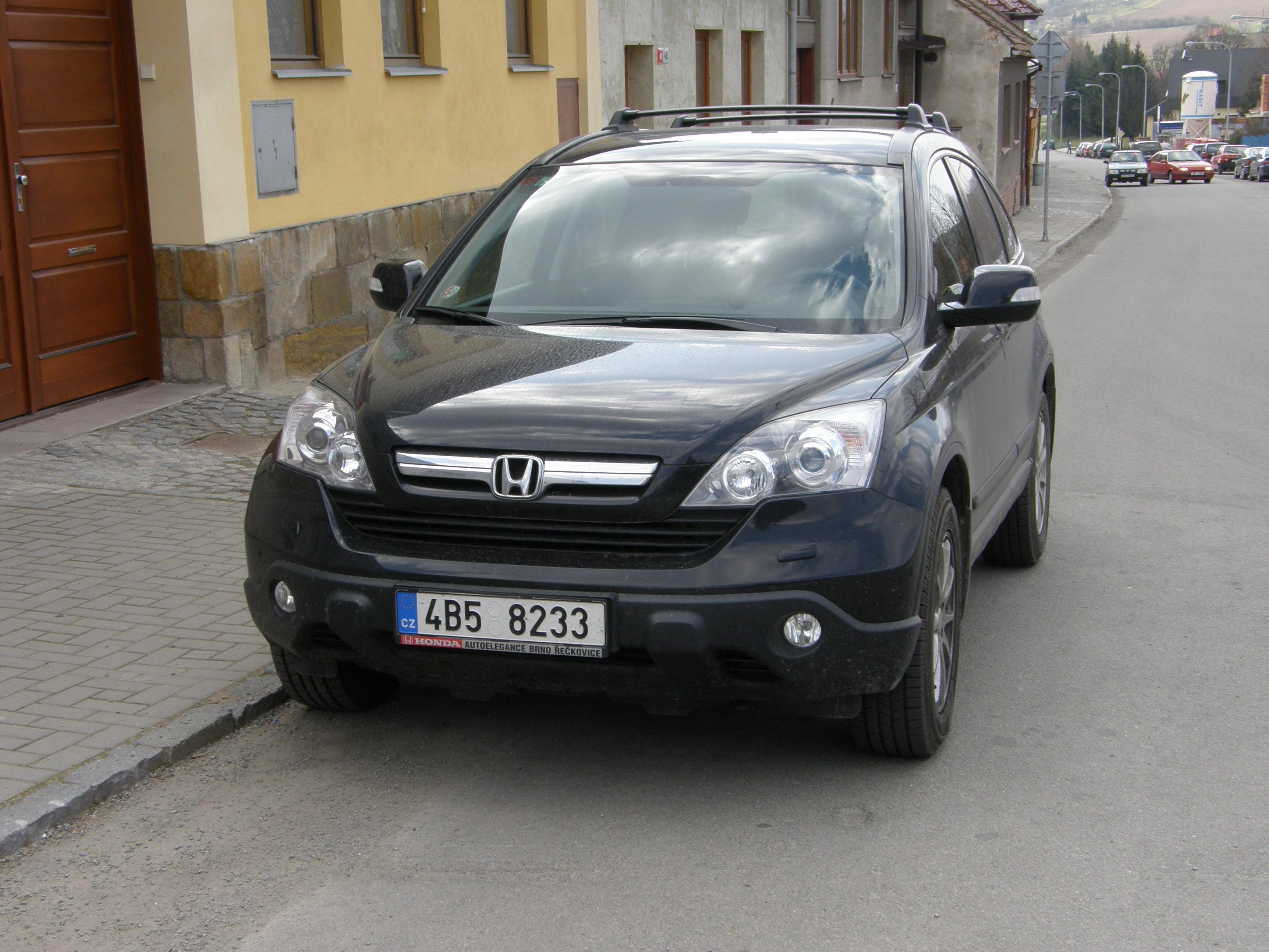 Хонда срв черная фото