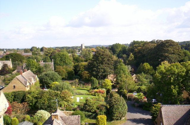 Hook Norton village from the brewery - geograph.org.uk - 582293