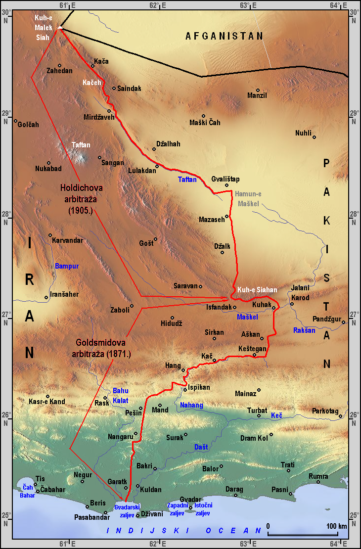 Iran–Pakistan border...