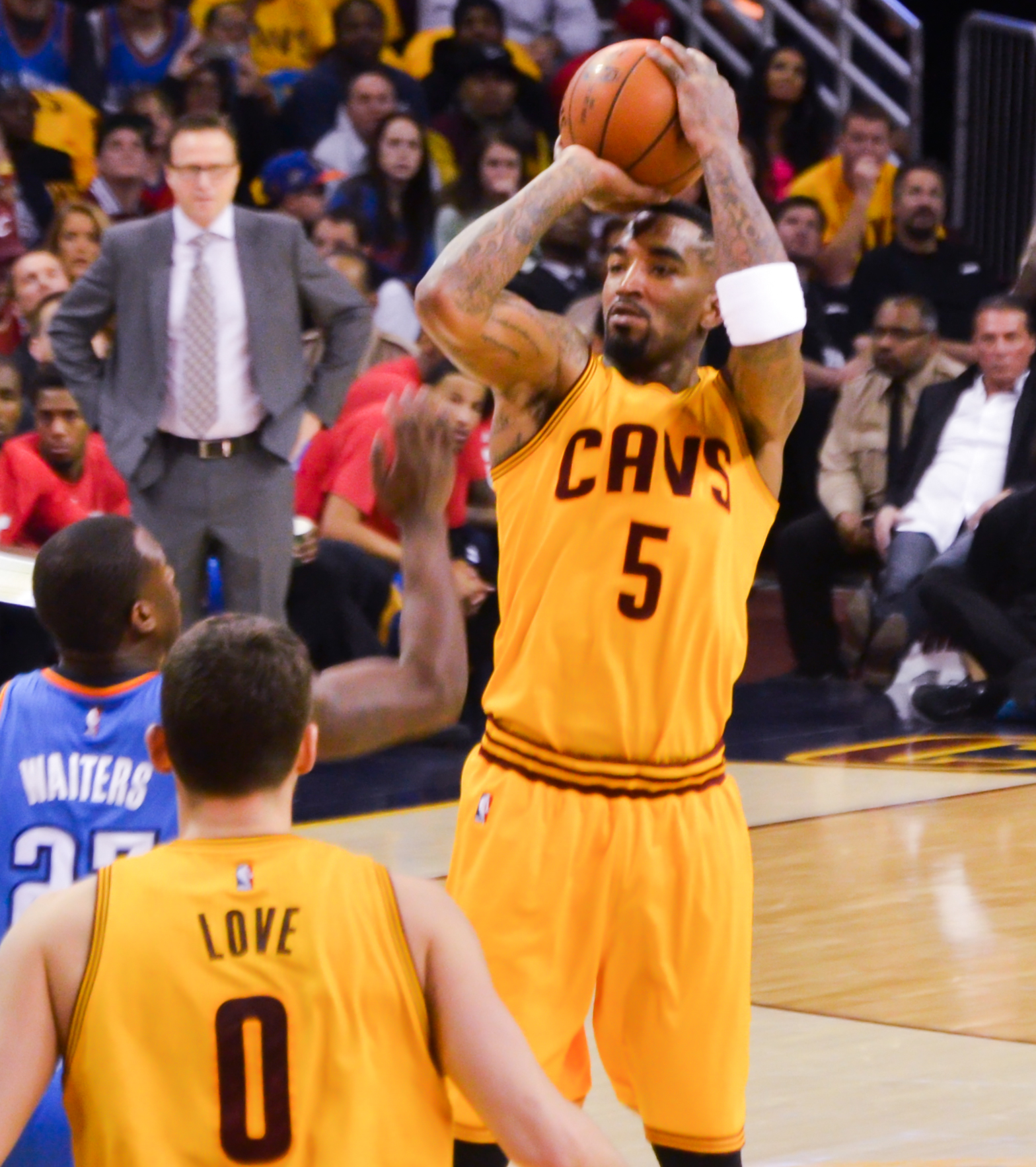 NBA Finals Game 1 Morning Thoughts: The J.R. Smith