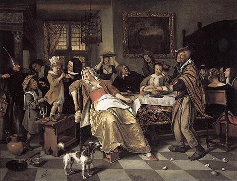 Drie koningen feest Jan Steen