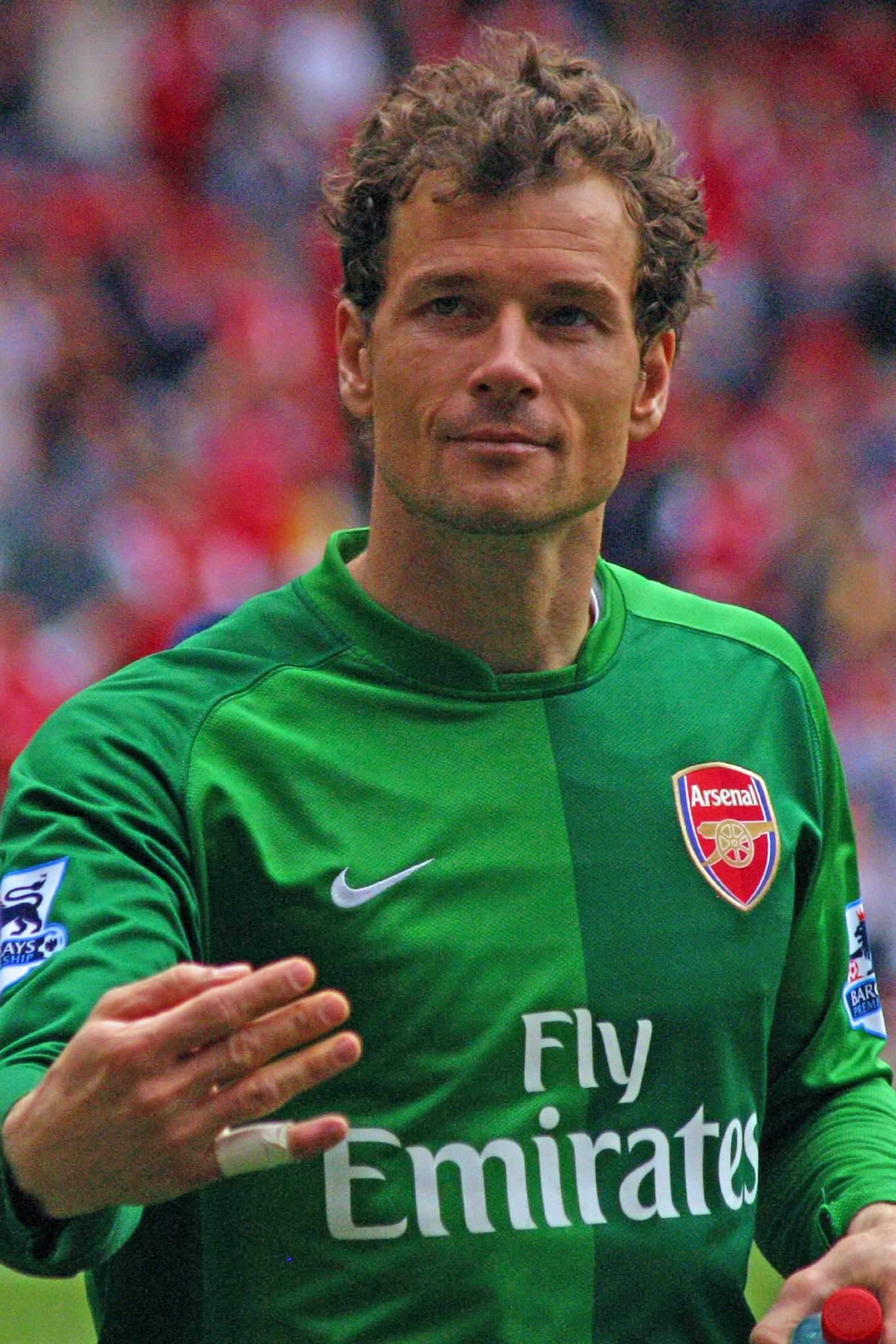 The 49-year old son of father Hans-Dieter  and mother(?) Jens Lehmann in 2019 photo. Jens Lehmann earned a  million dollar salary - leaving the net worth at 6 million in 2019