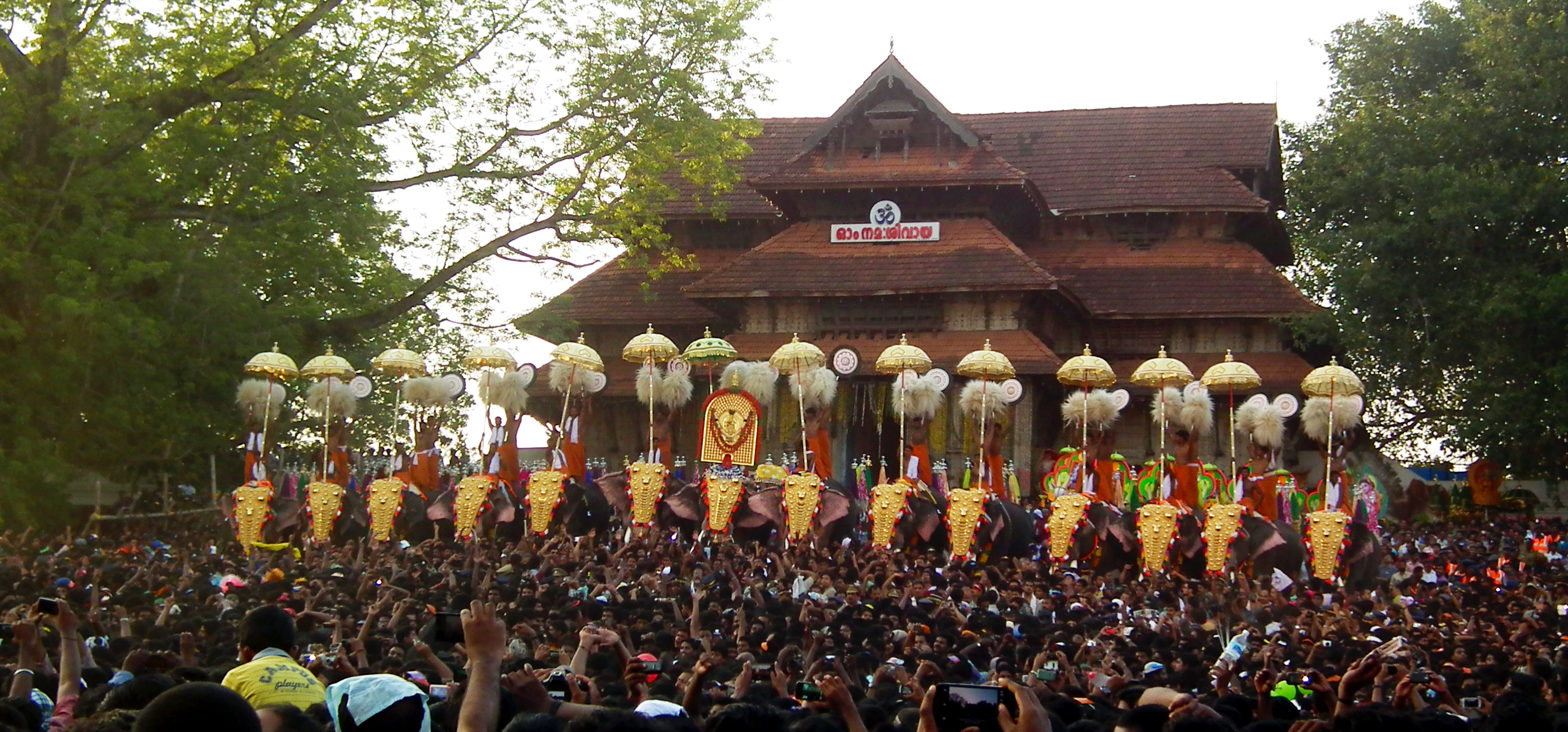 thrissur pooram photos