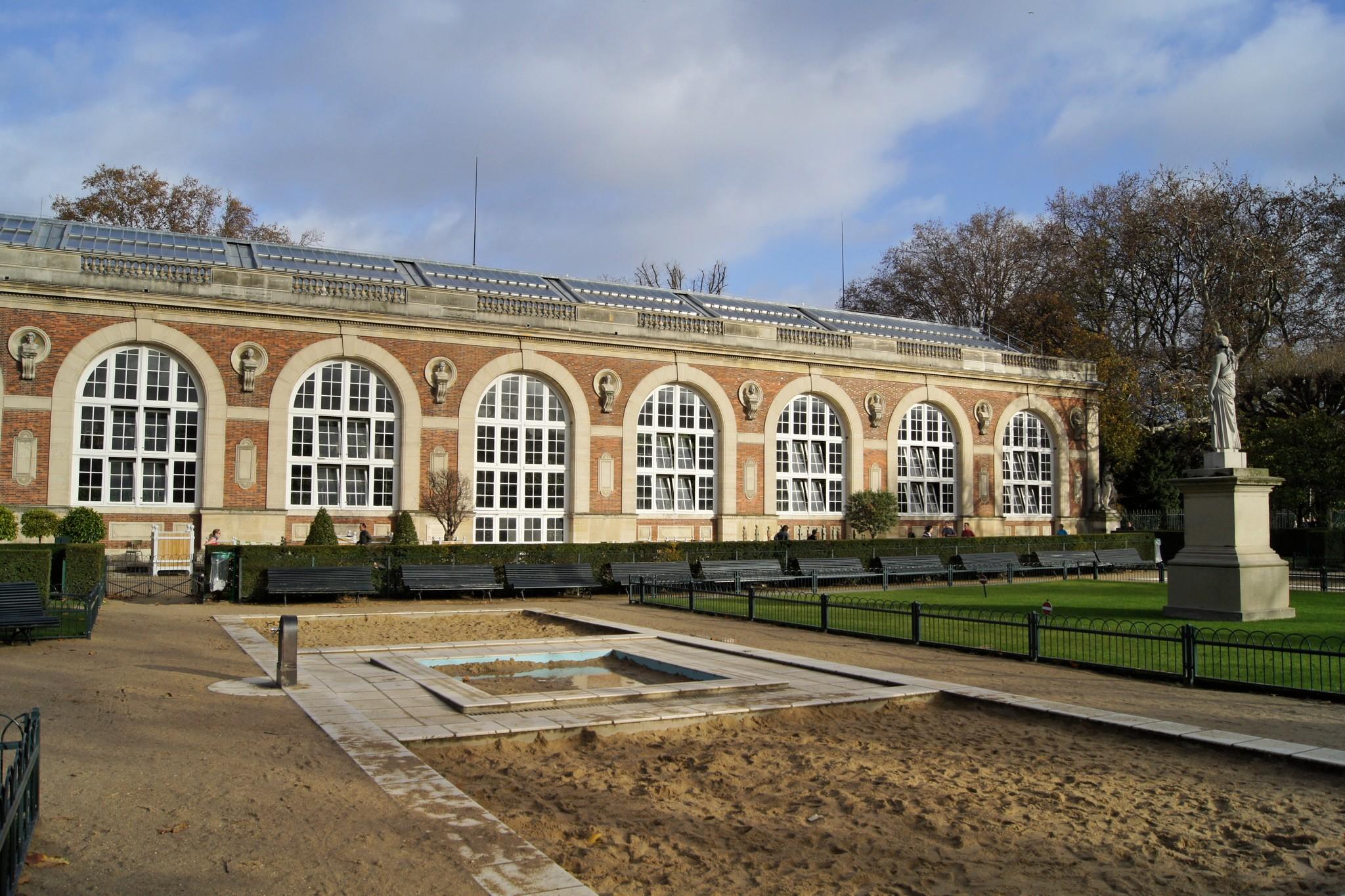 file l 39 orangerie du jardin du luxembourg
