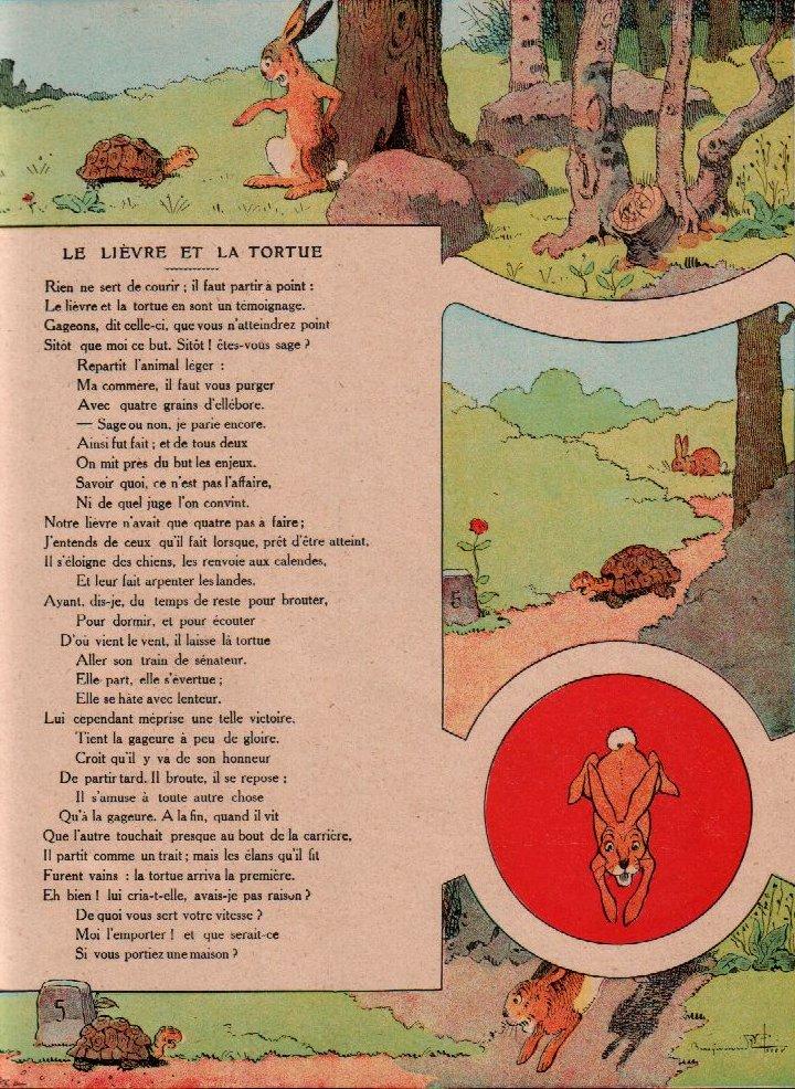 File la fontaine le li vre et la wikimedia - Dessin du lievre et de la tortue ...