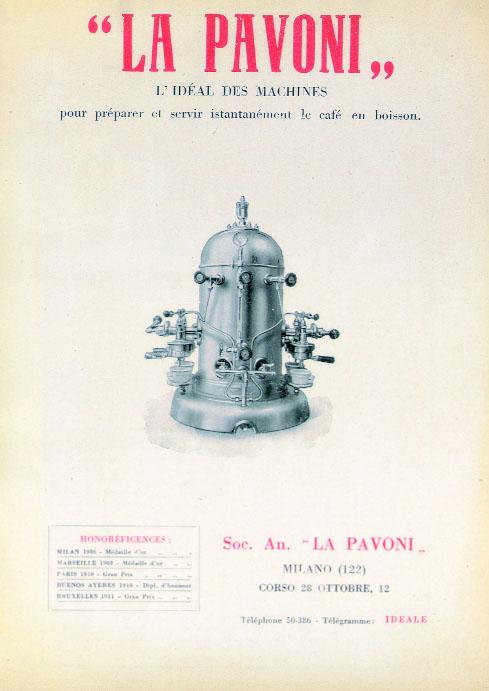 Le café La_Pavoni