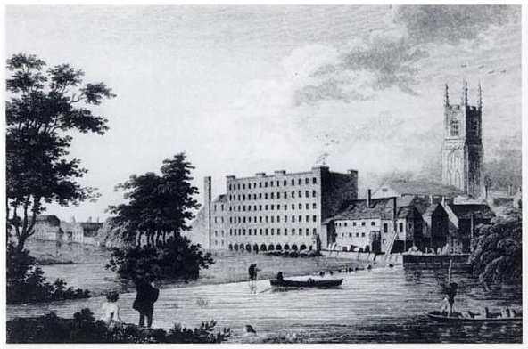Industrial Revolution Mills Lombe's Mill - Wikiped...