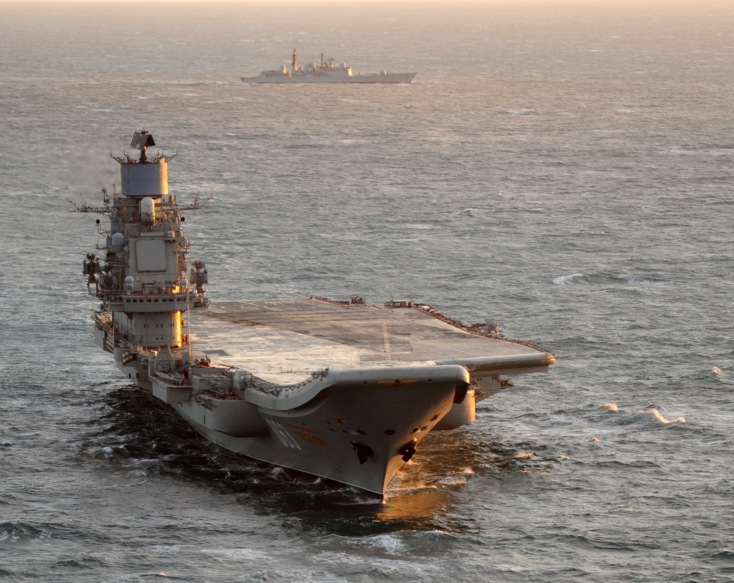 Future Russian Aircraft Carriers and Deck Aviation. #2 MOD_UK_45153831