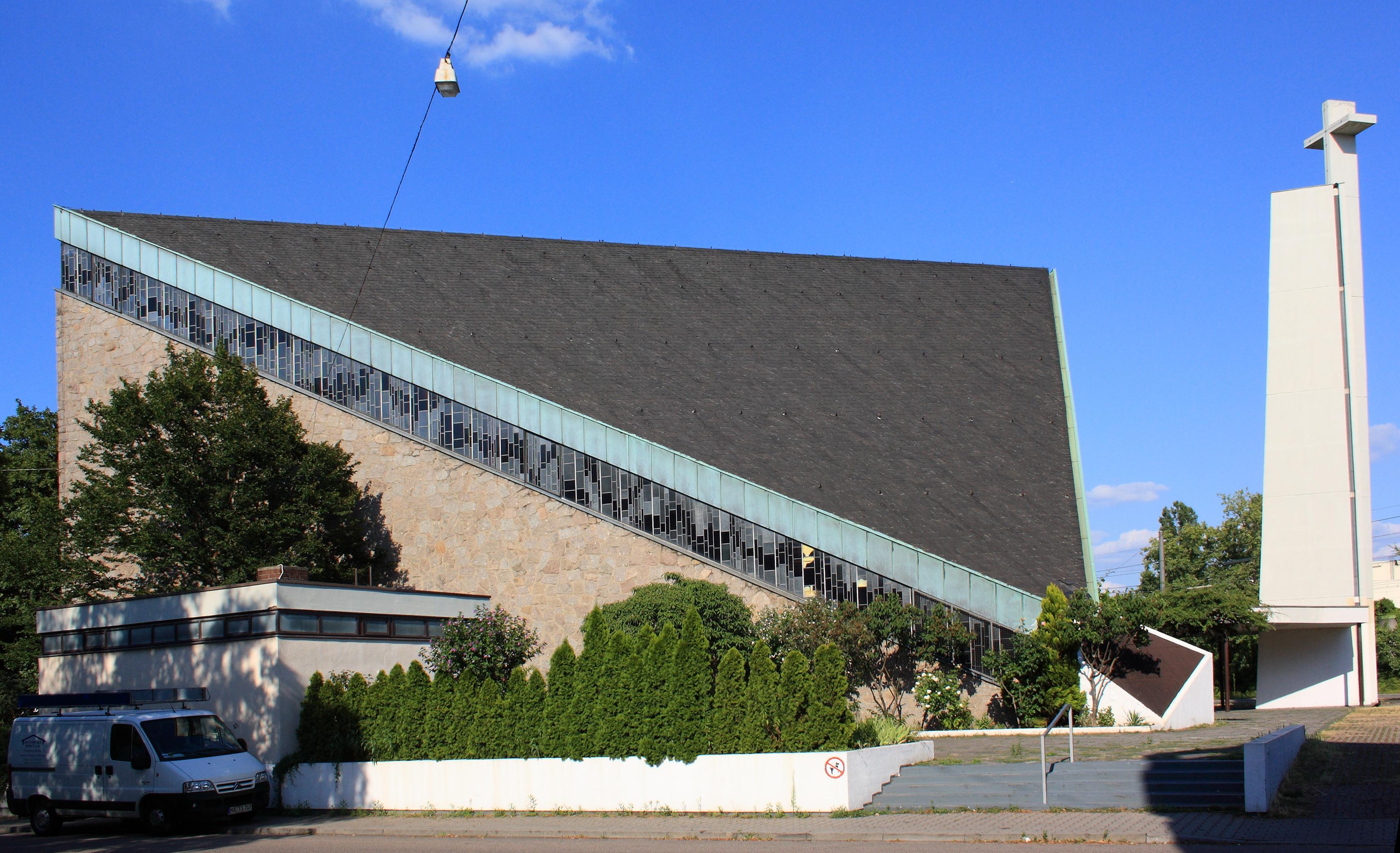 Käfertal kirche mannheim orthodoxe Unionskirche