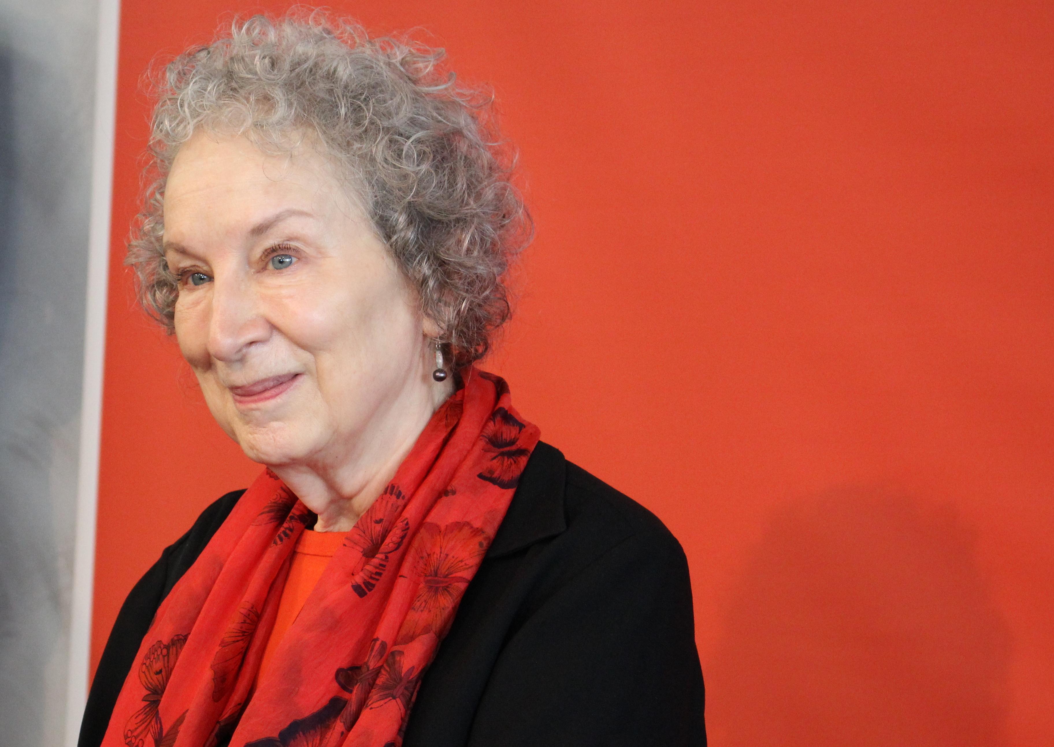 File:Margaret Atwood - Foire du Livre de Francfort (37735253561).jpg -  Wikimedia Commons