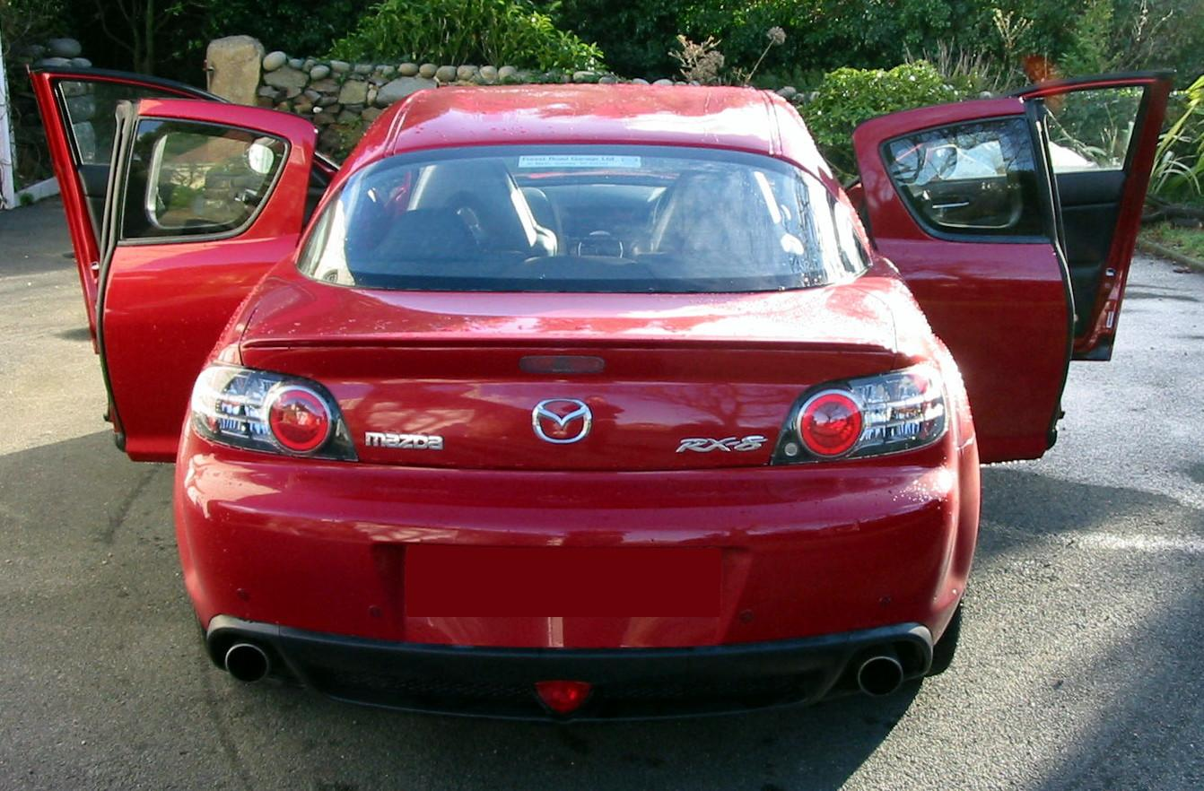 Mazda  Red Paint Code V