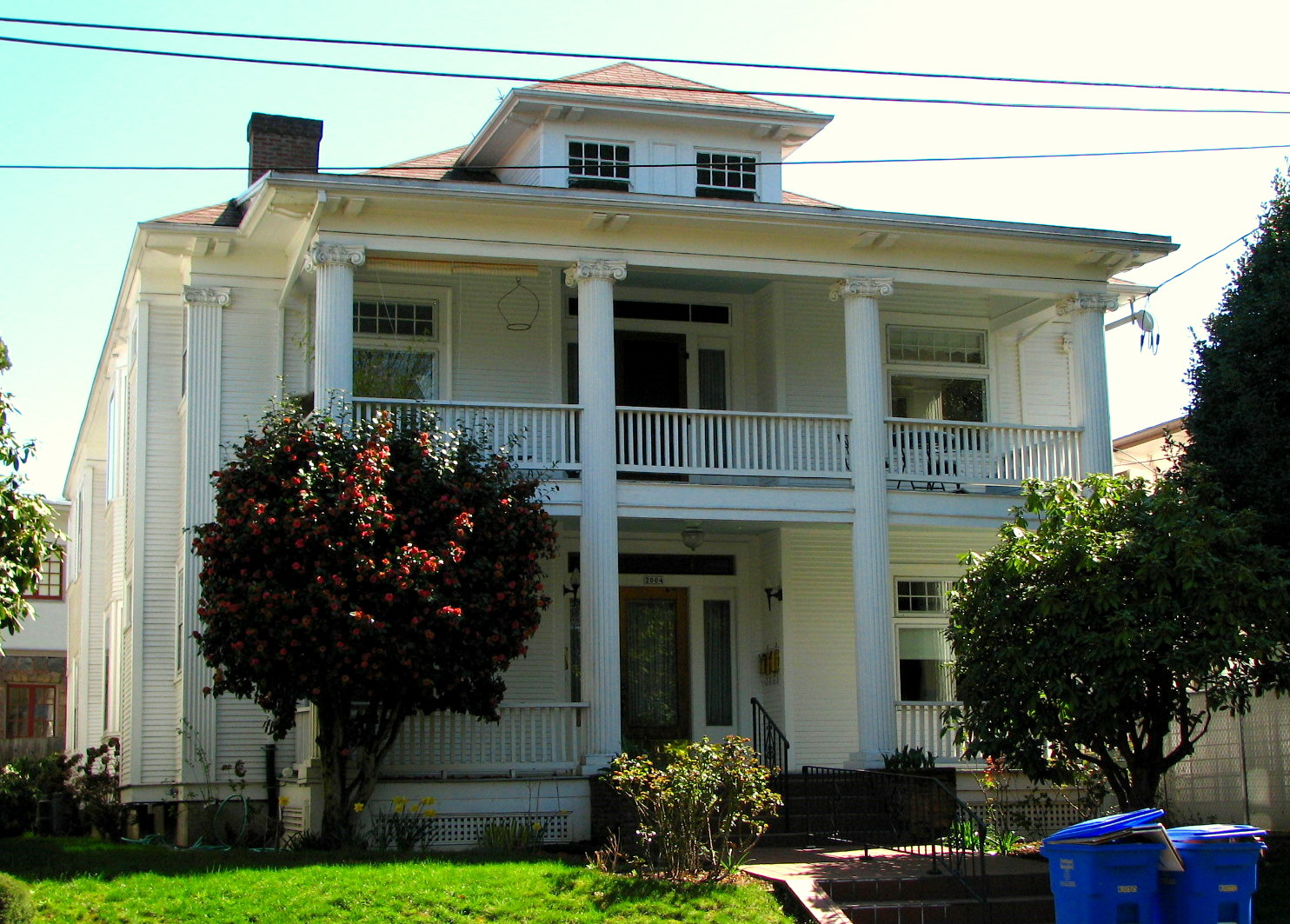 How many spots on the national register of historic places for Building a fourplex