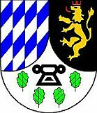Coat of arms of the local community Mengigart