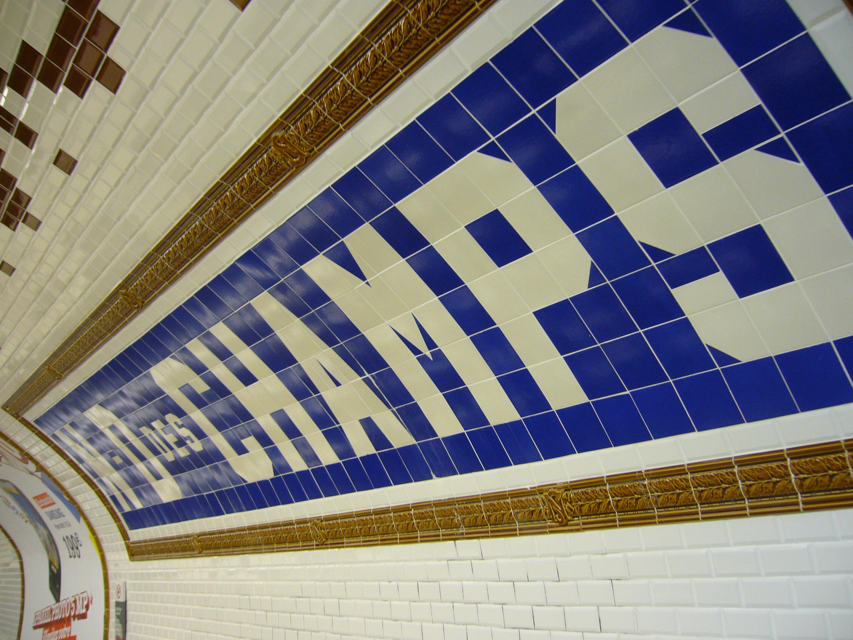 filemetro paris ligne 12 station notre dame des champs - Faience Metro