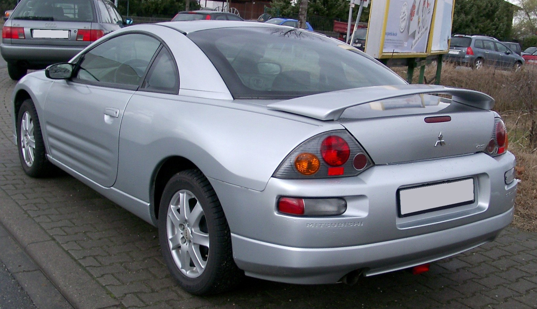 File:Mitsubishi Eclipse rear 20080303.jpg - Wikimedia Commons