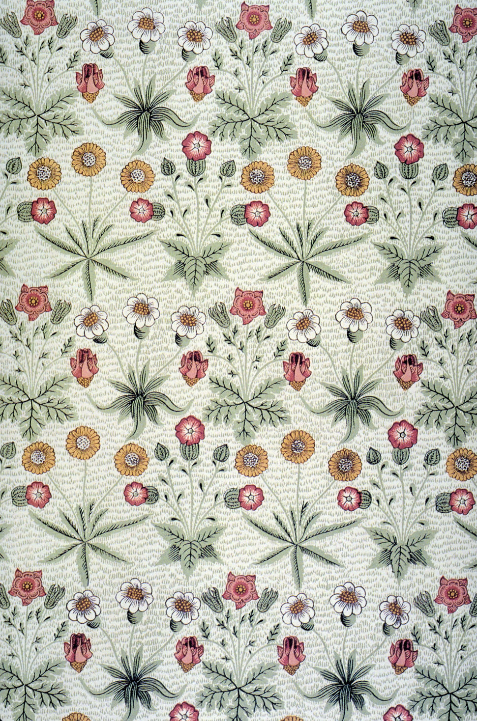 Daisy pattern wallpaper - photo#28