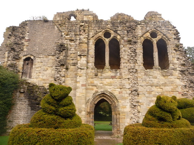 Much Wenlock, St. Michael's Chapel, Wenlock Priory - geograph.org.uk - 1627243