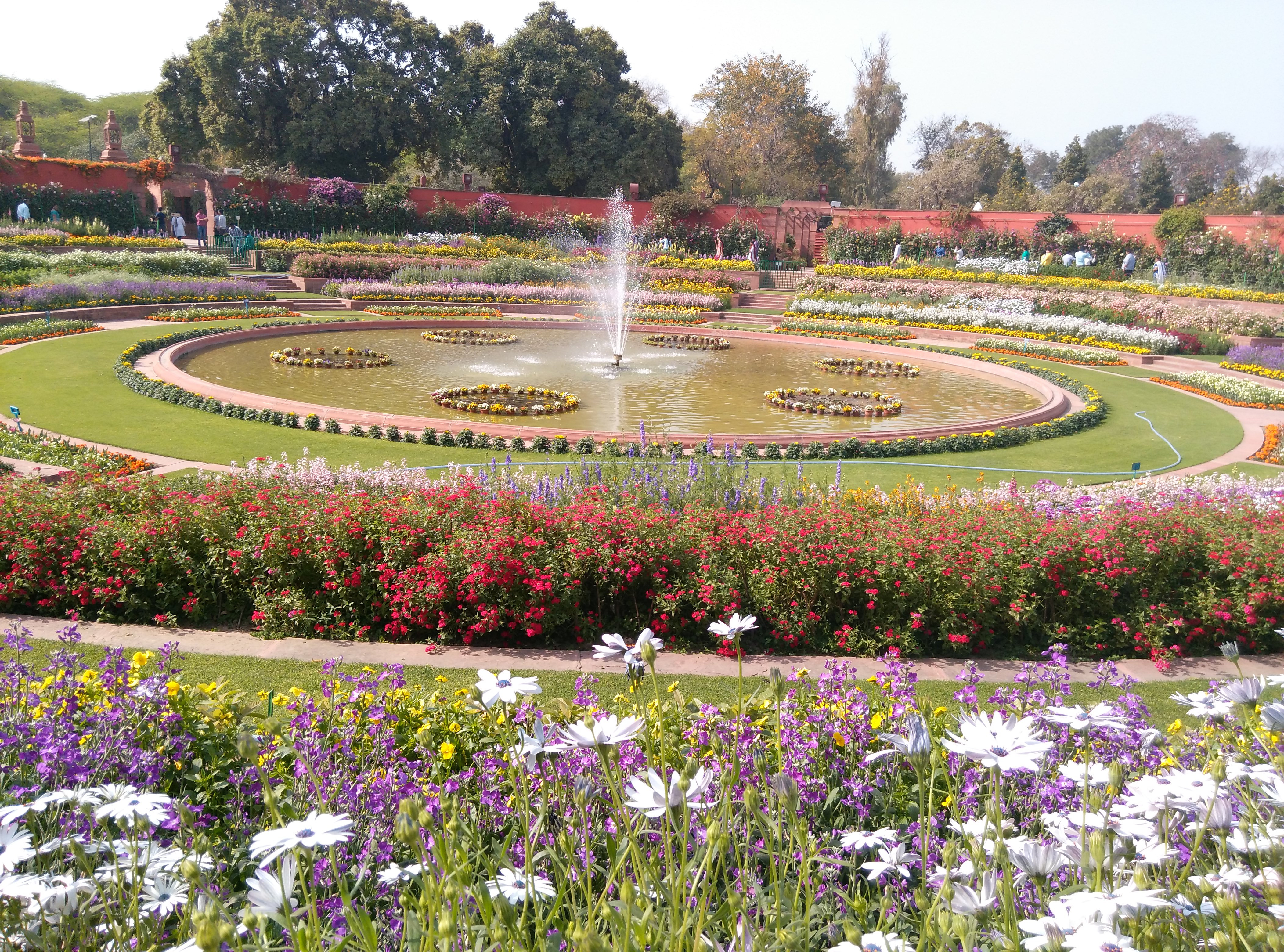 Mughal Garden in Delhi